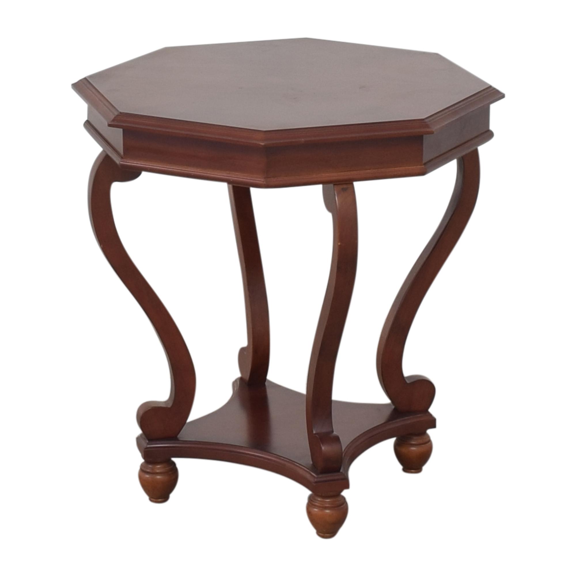 Bombay Company Bombay Company Octagonal Accent Table brown
