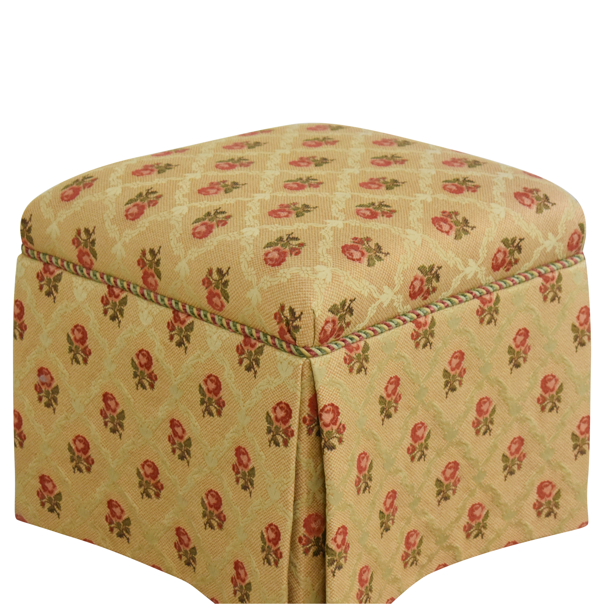Skirted Square Ottoman / Ottomans