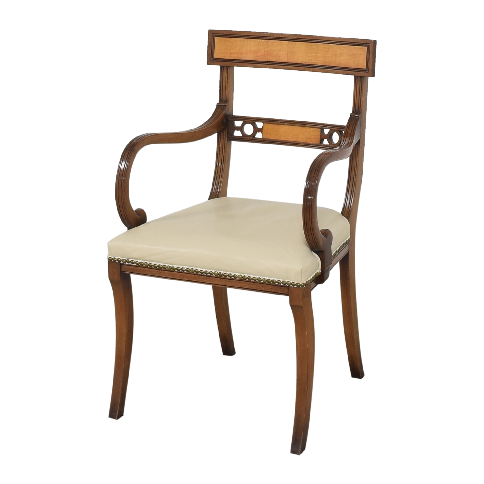 Upholstered Nailhead Dining Chairs  price