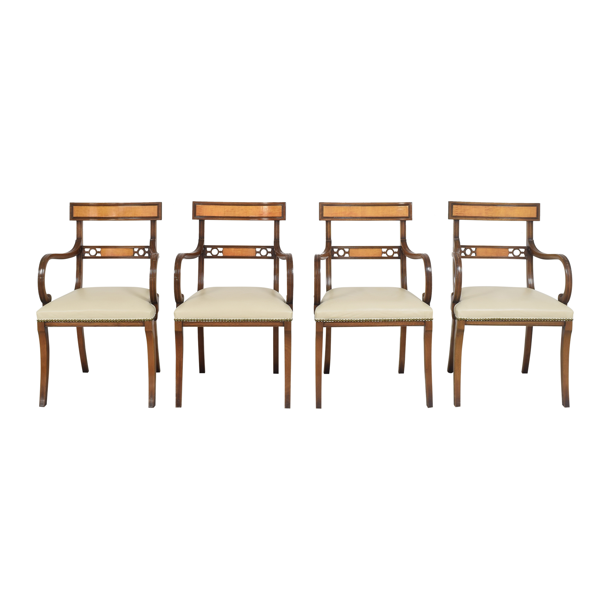buy Upholstered Nailhead Dining Chairs