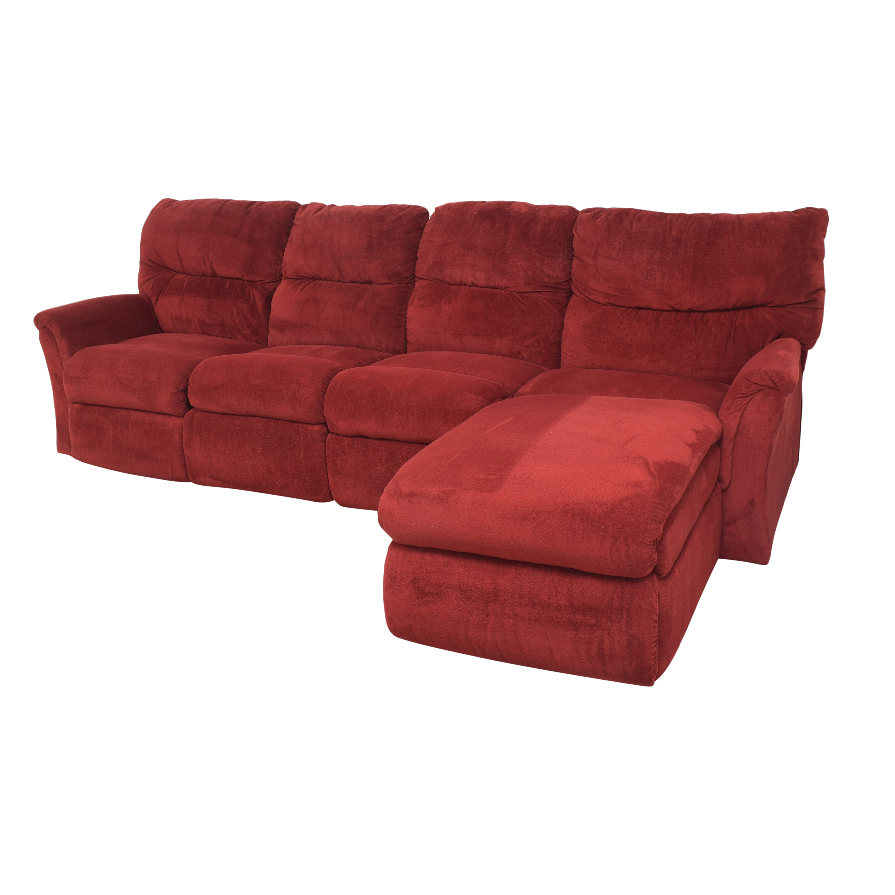La-Z-Boy Reclining Chaise Sectional Sofa / Sectionals
