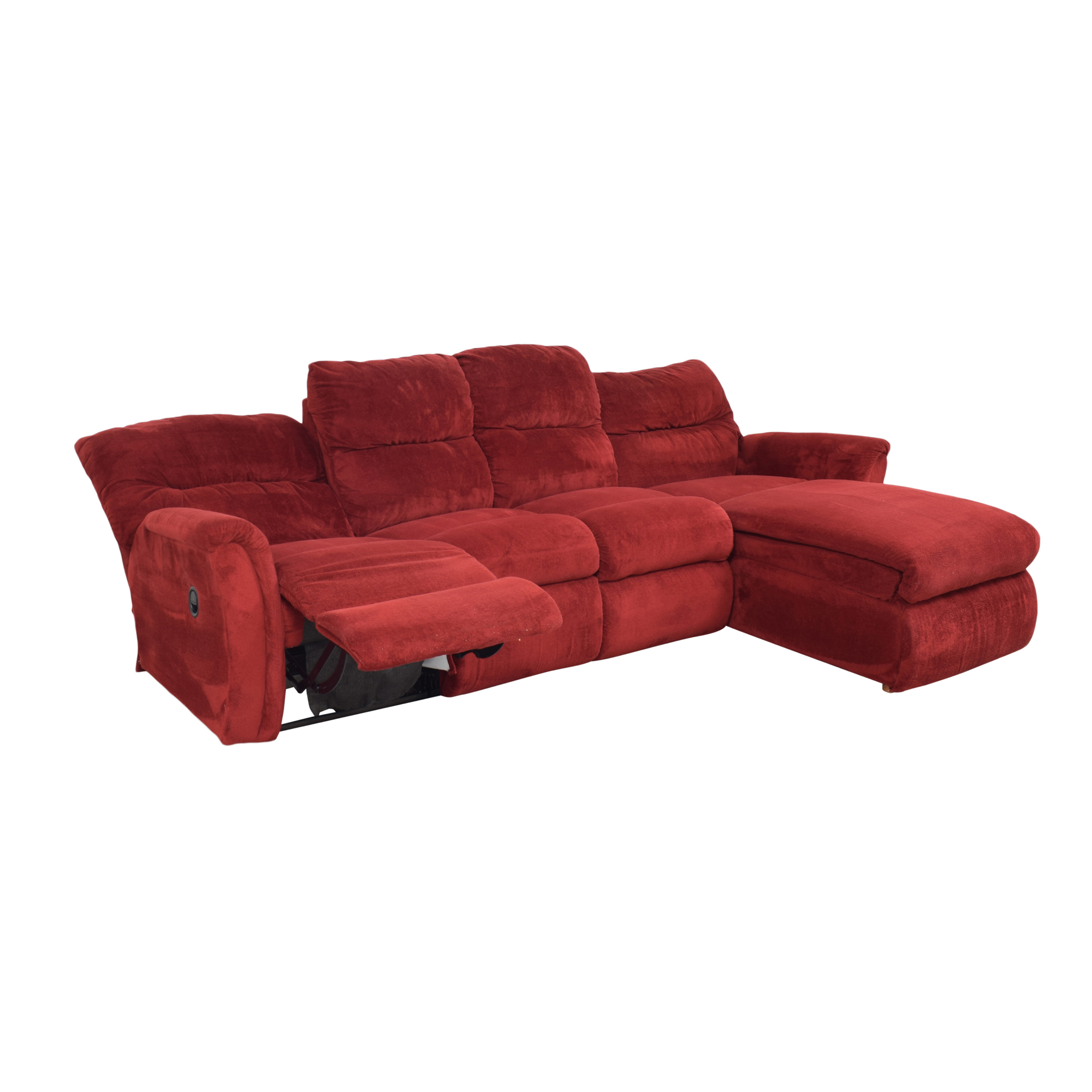 La-Z-Boy Reclining Chaise Sectional Sofa / Sofas