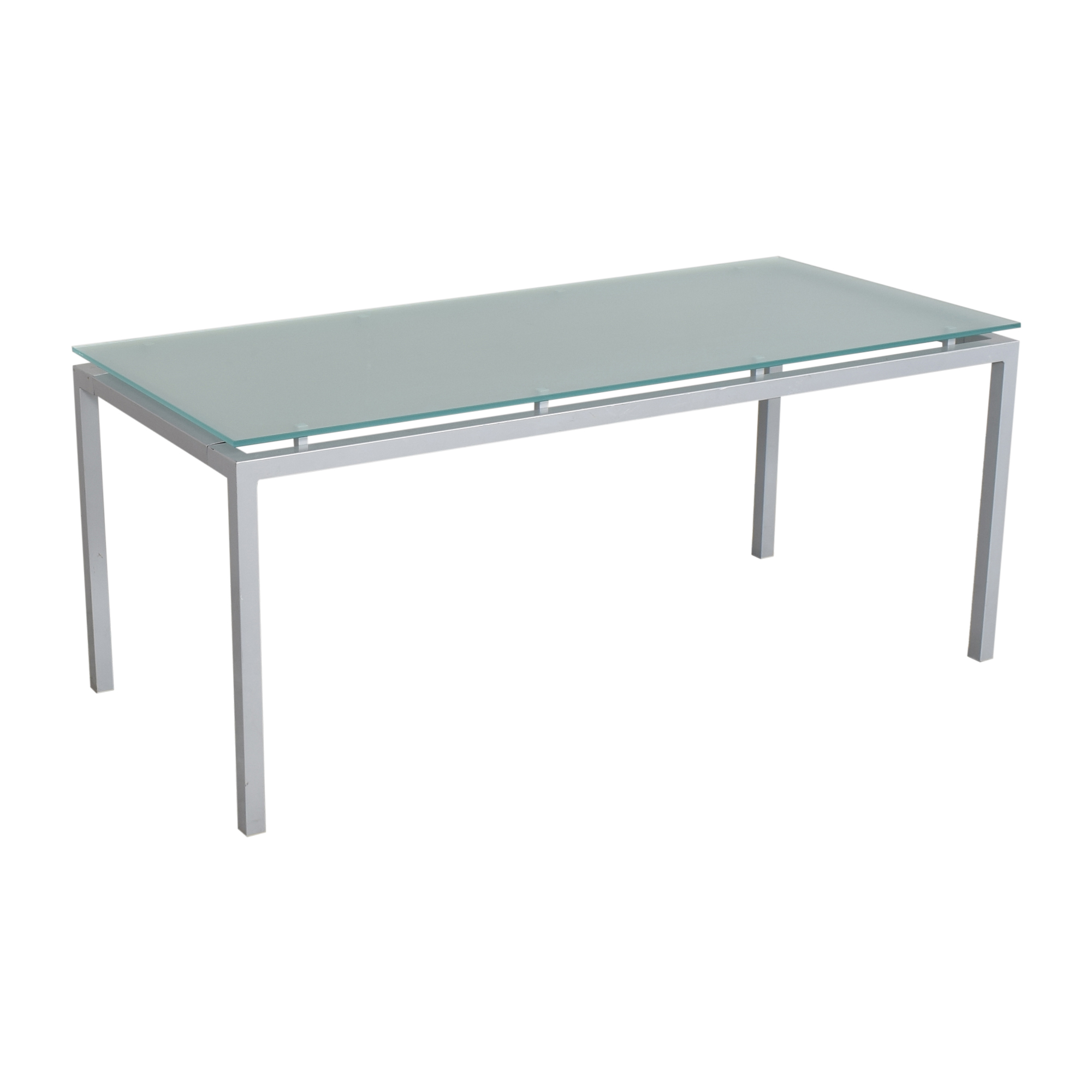 Design Within Reach Design Within Reach Frost Glass Desk Tables