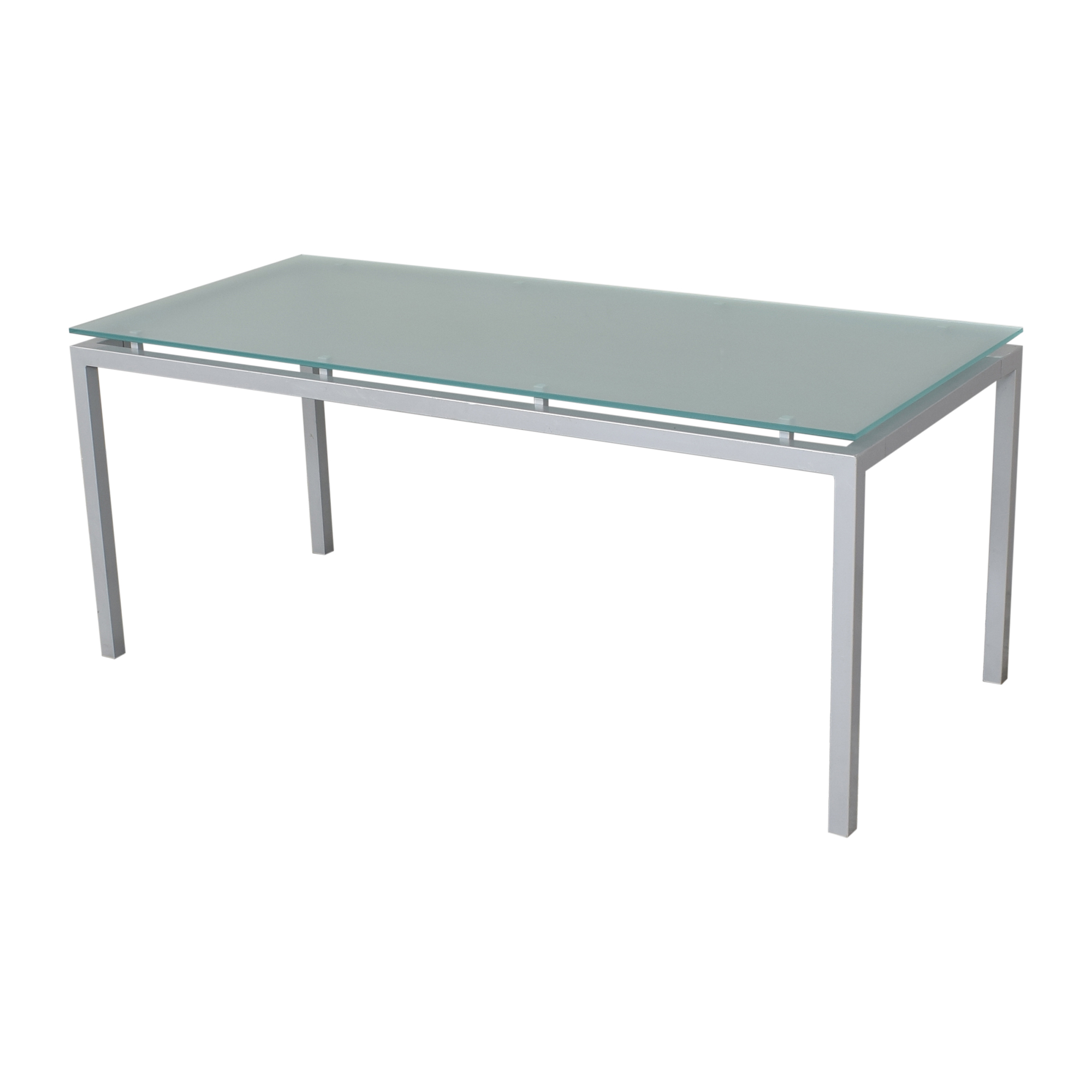 Design Within Reach Design Within Reach Frost Glass Desk nyc