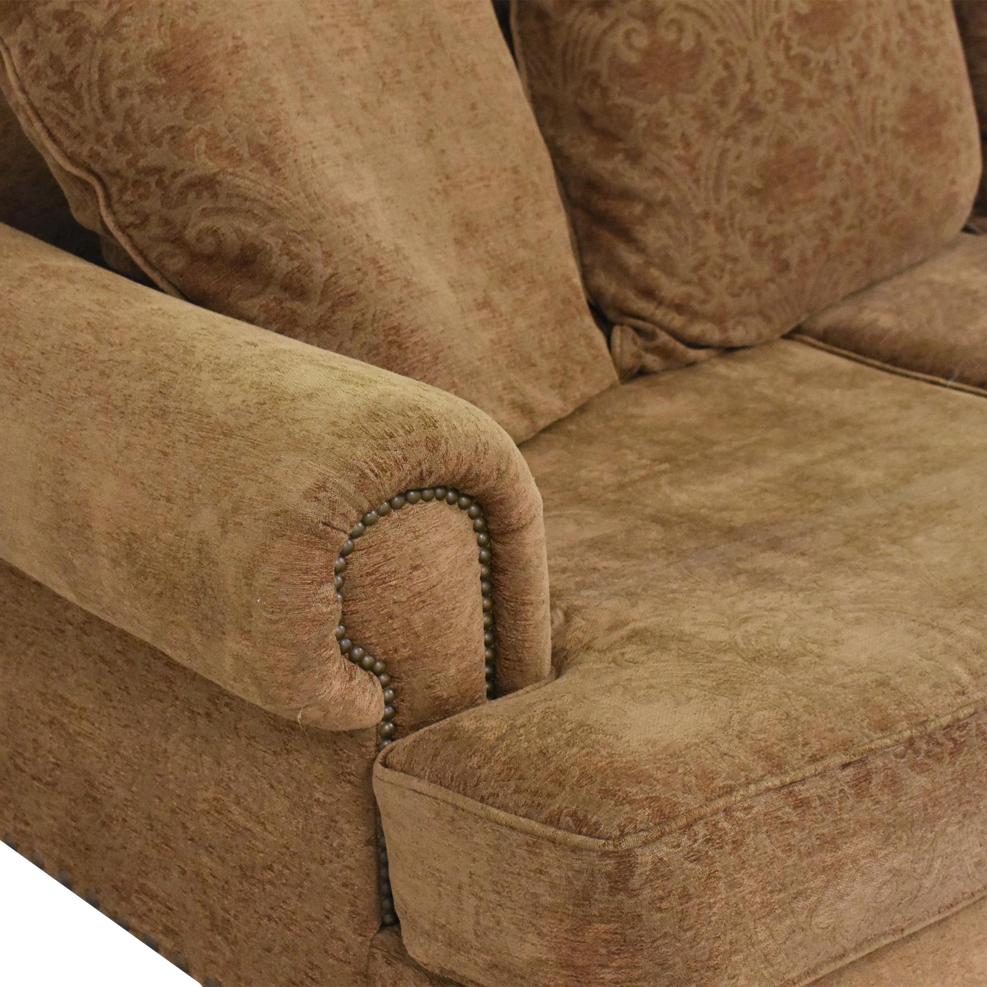 Bernhardt Bernhardt Three Cushion Roll Arm Sofa Classic Sofas