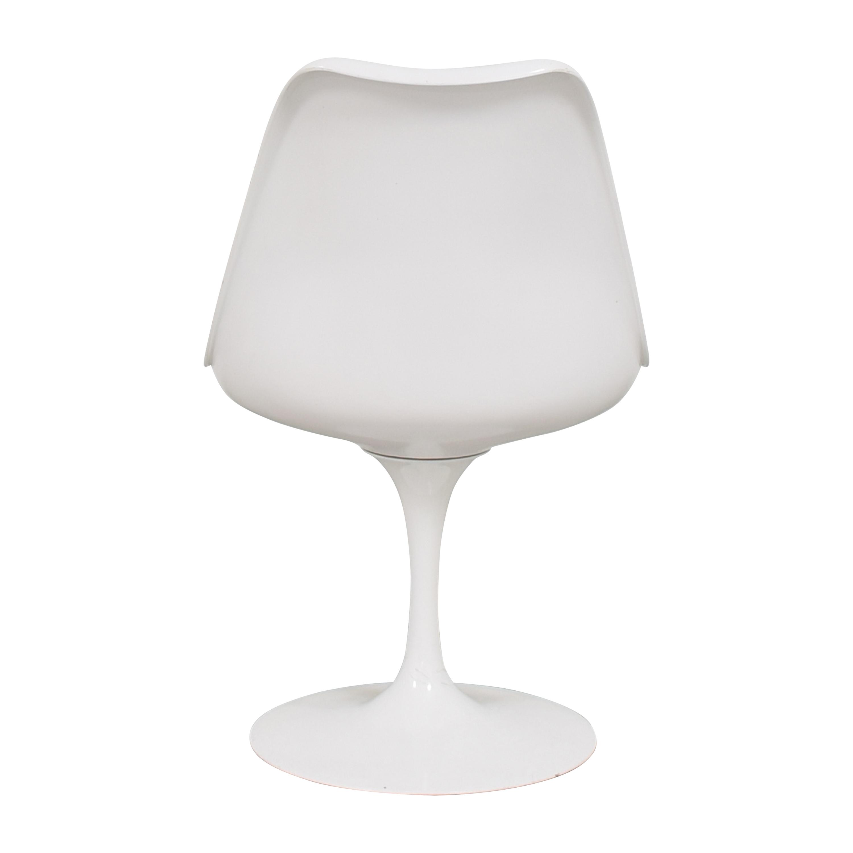 Design Within Reach Design Within Reach Saarinen Tulip Side Chair white & grey