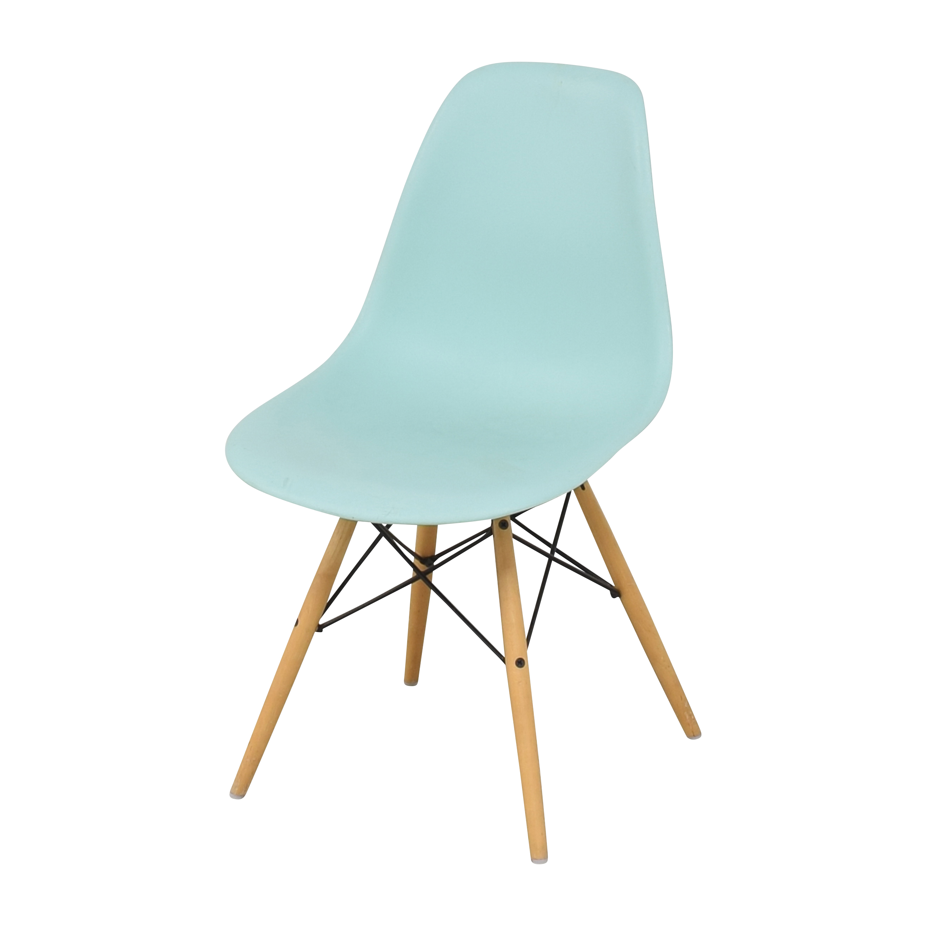 buy Design Within Reach Eames Molded Side Chair Herman Miller Dining Chairs