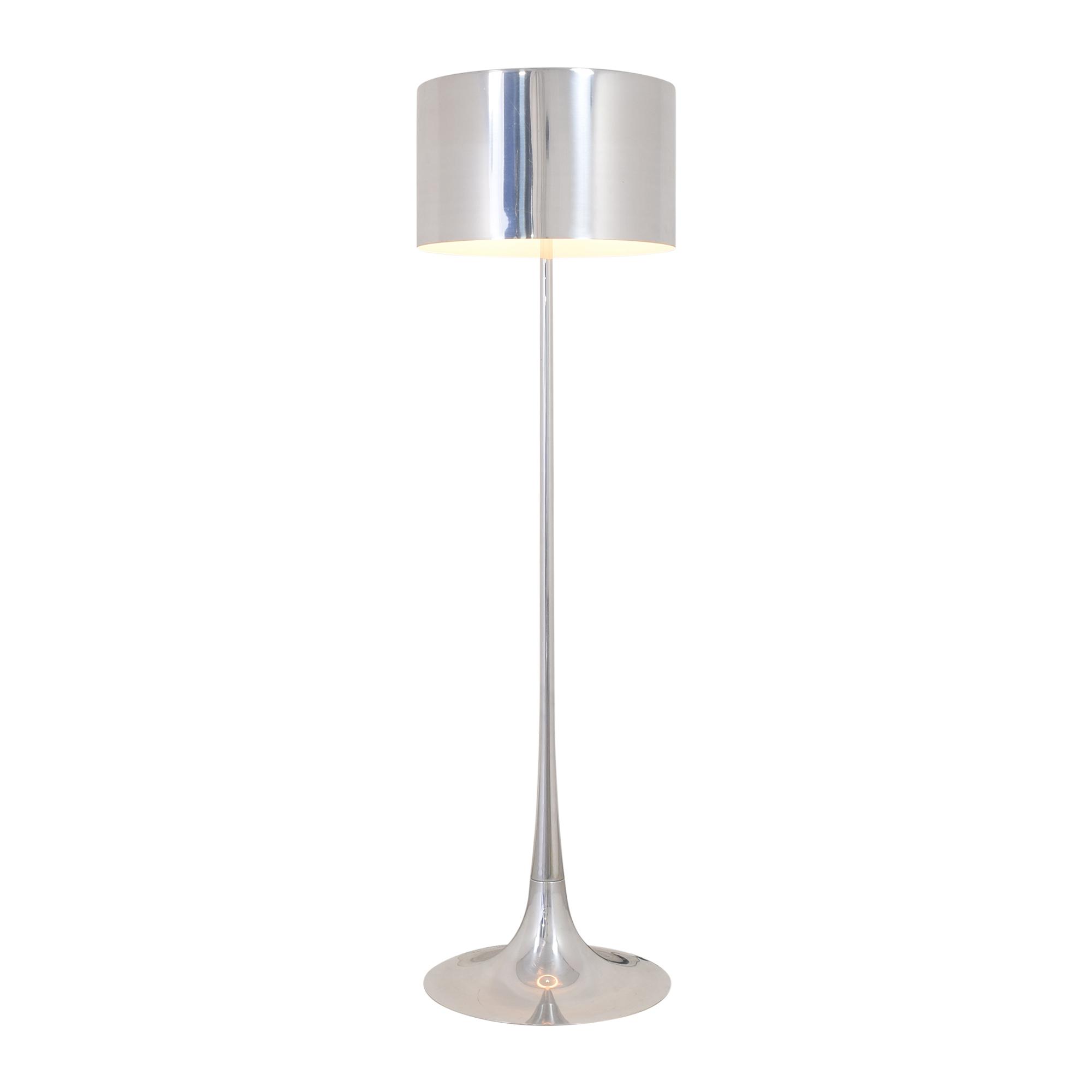 FLOS FLOS Spun Floor Lamp silver