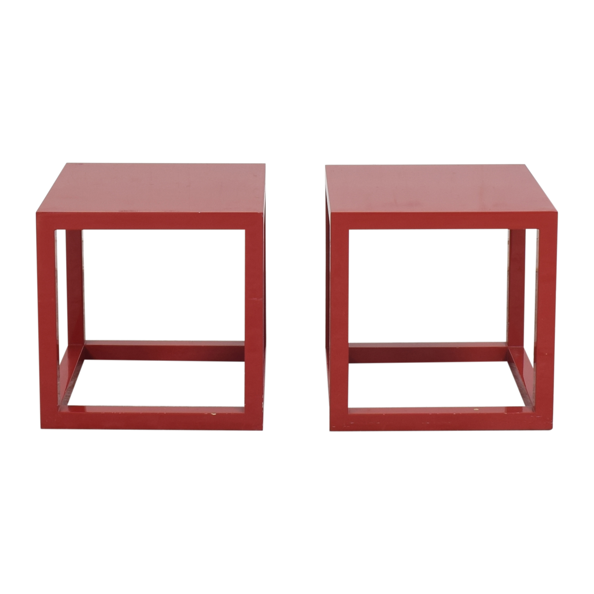 Jonathan Adler Jonathan Adler Cube Side Tables ma