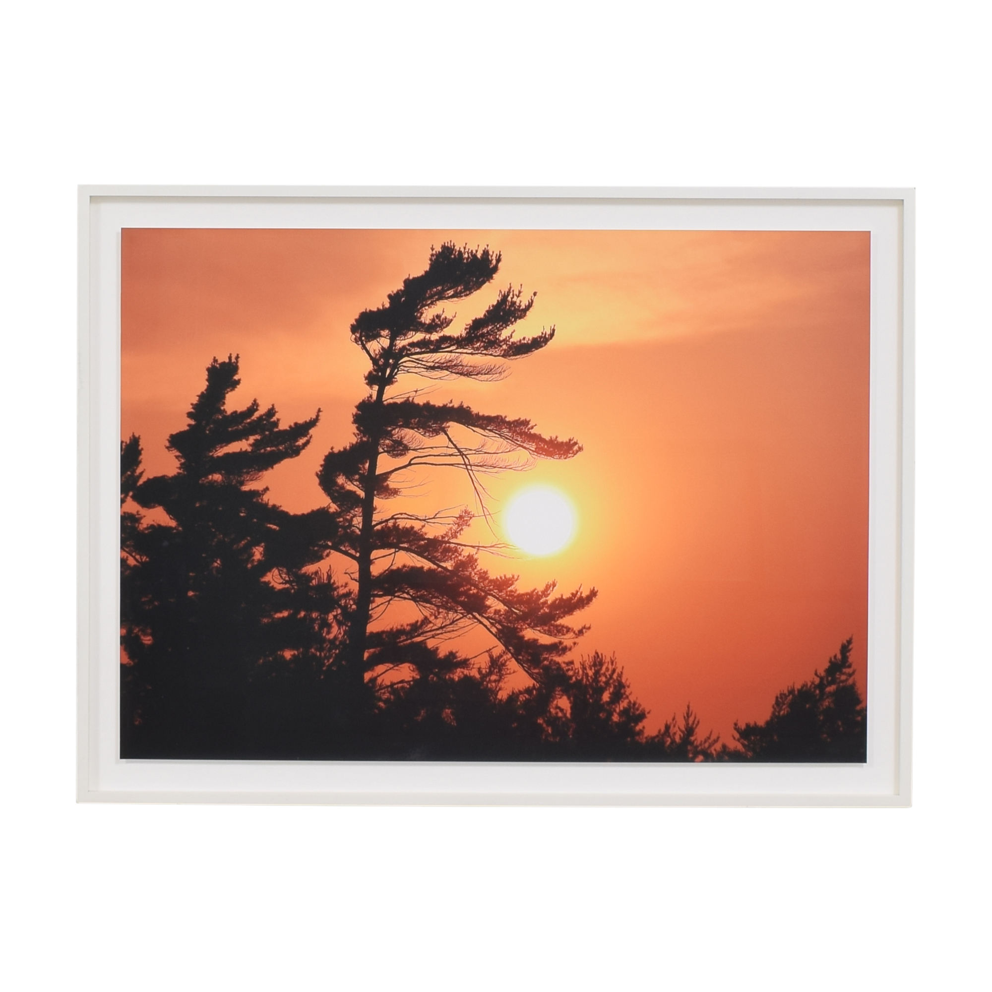 Sunset Photograph Framed Wall Art second hand