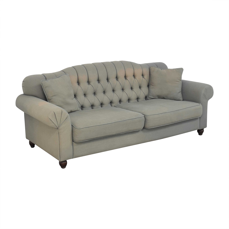 buy ABC Carpet & Home Tufted Roll Arm Sofa ABC Carpet & Home