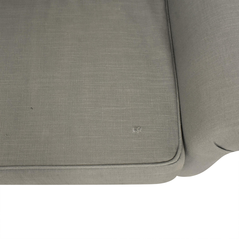 shop ABC Carpet & Home Tufted Roll Arm Sofa ABC Carpet & Home Classic Sofas