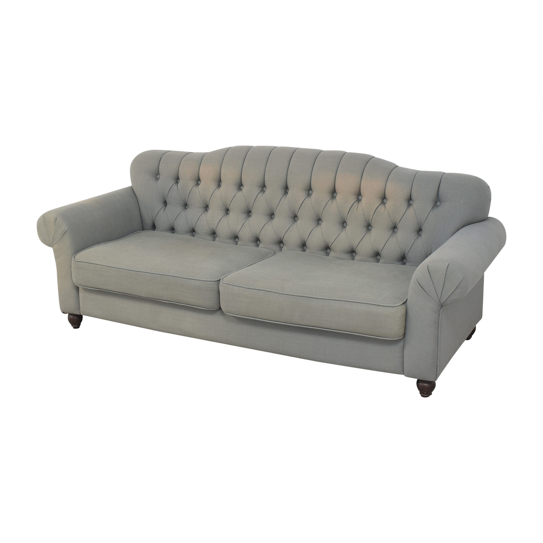 ABC Carpet & Home ABC Carpet & Home Tufted Roll Arm Sofa for sale