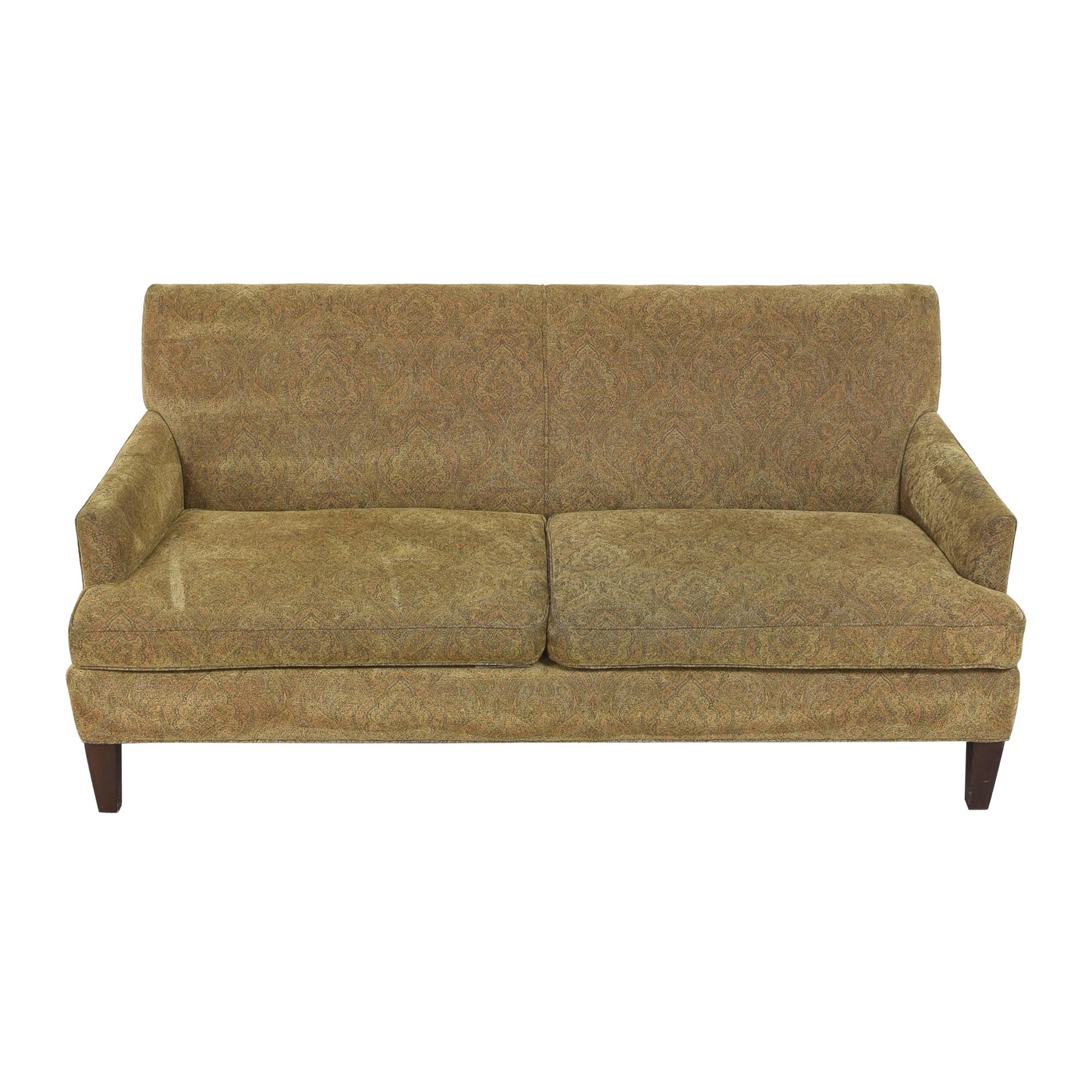 Lee Industries Lee Industries Two Cushion Sofa brown