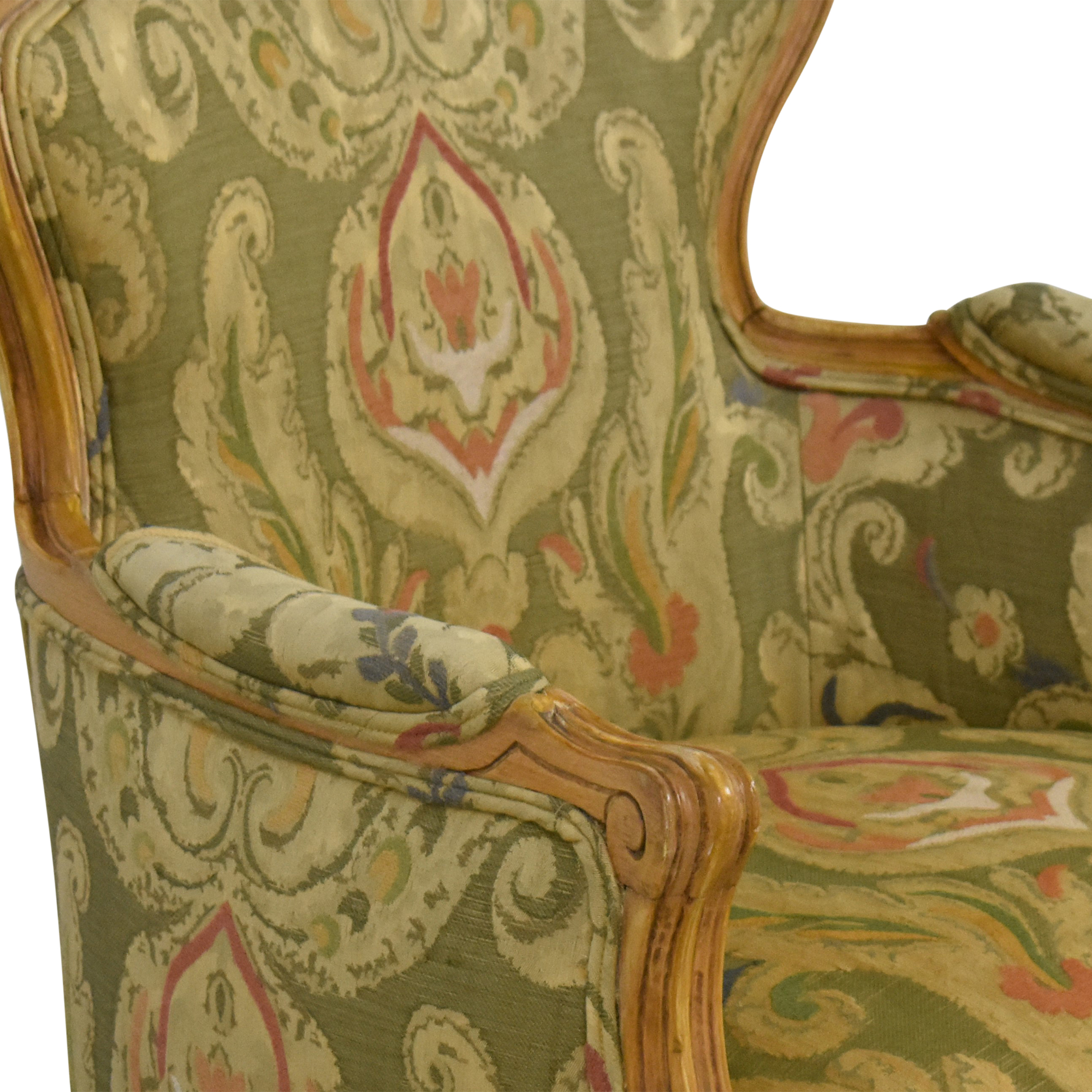 Wing Back Bergere Chair / Chairs