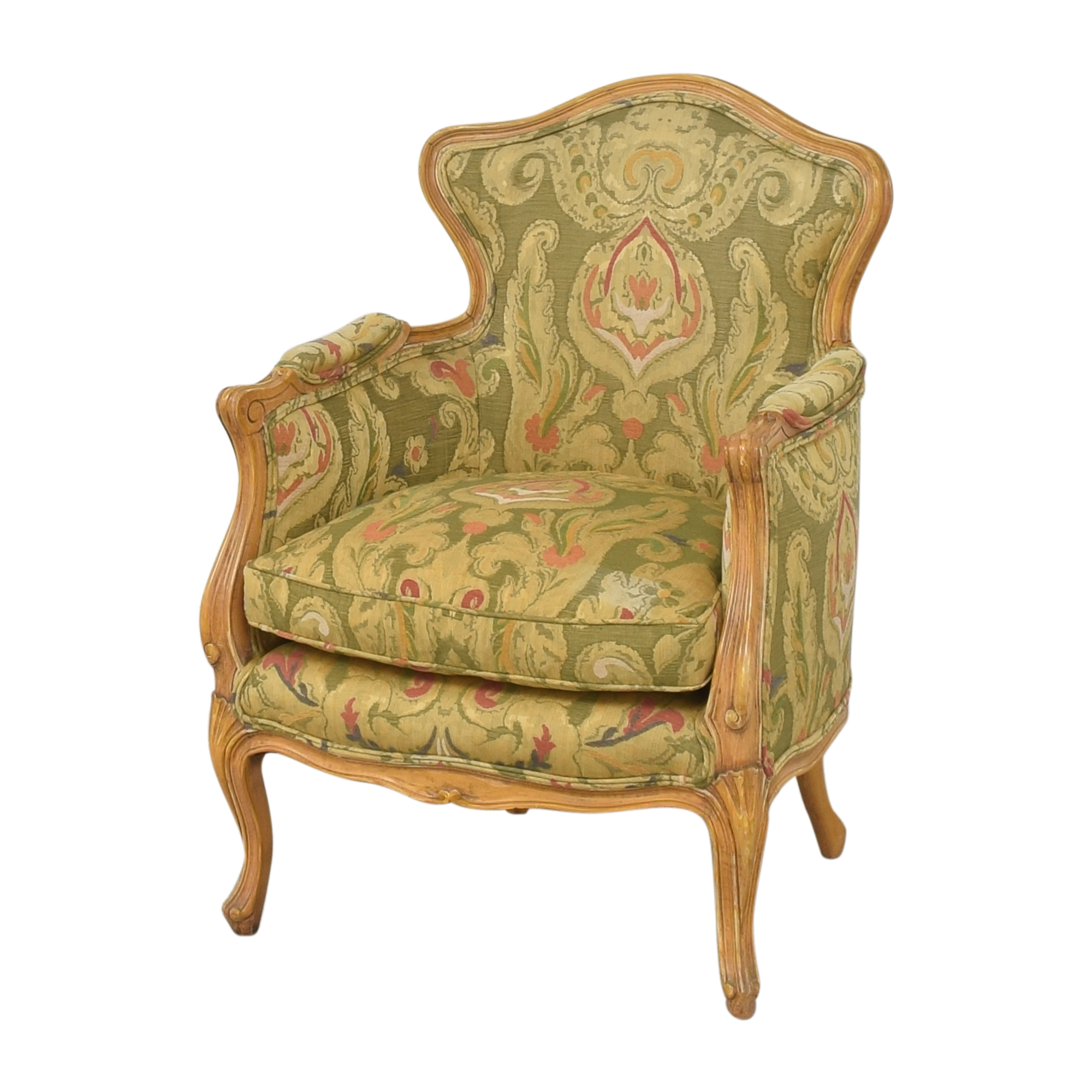 Wing Back Bergere Chair coupon