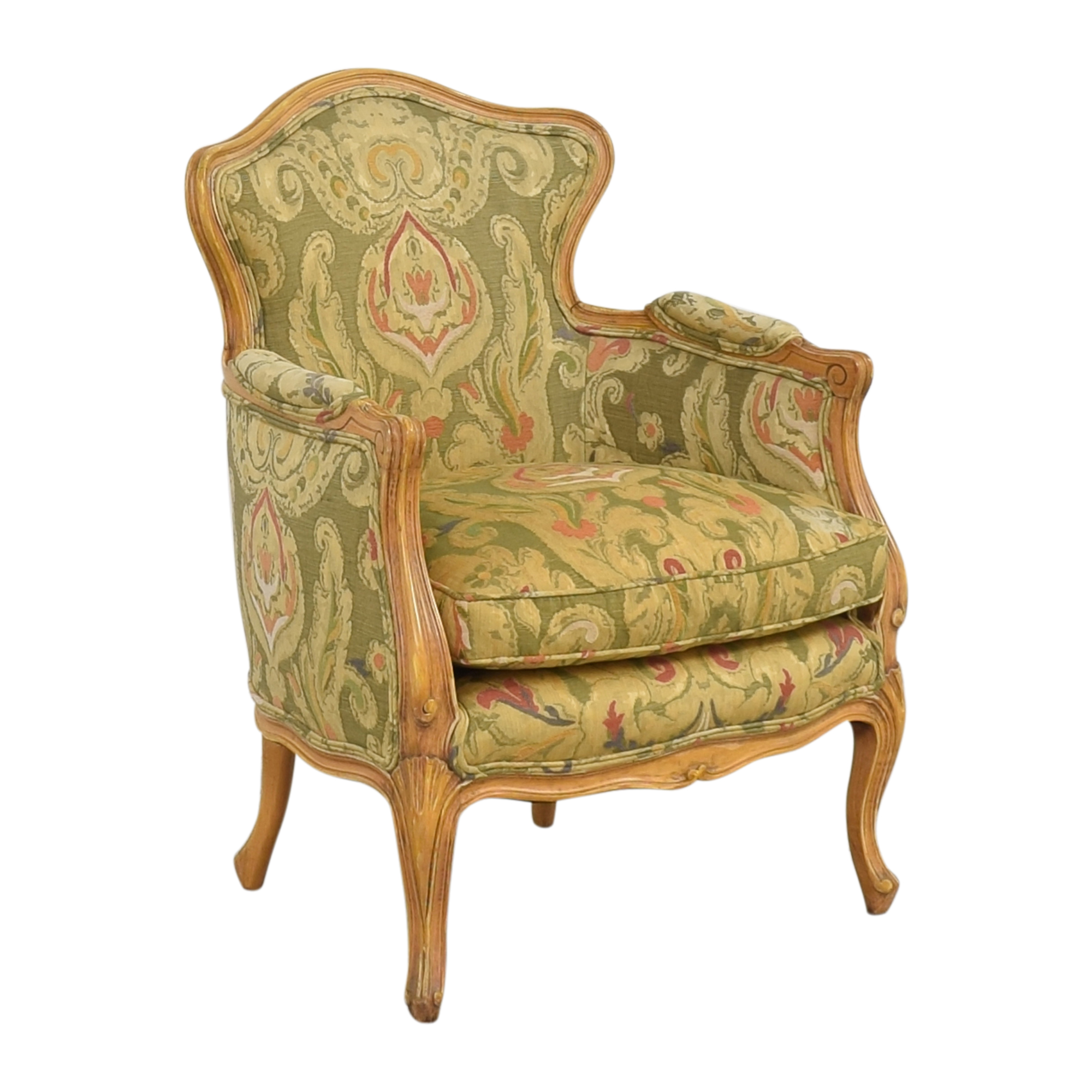 Wing Back Bergere Chair nj