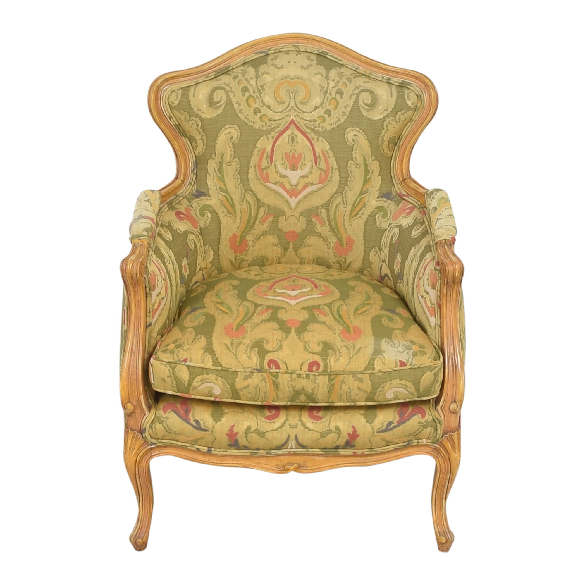 Wing Back Bergere Chair nyc