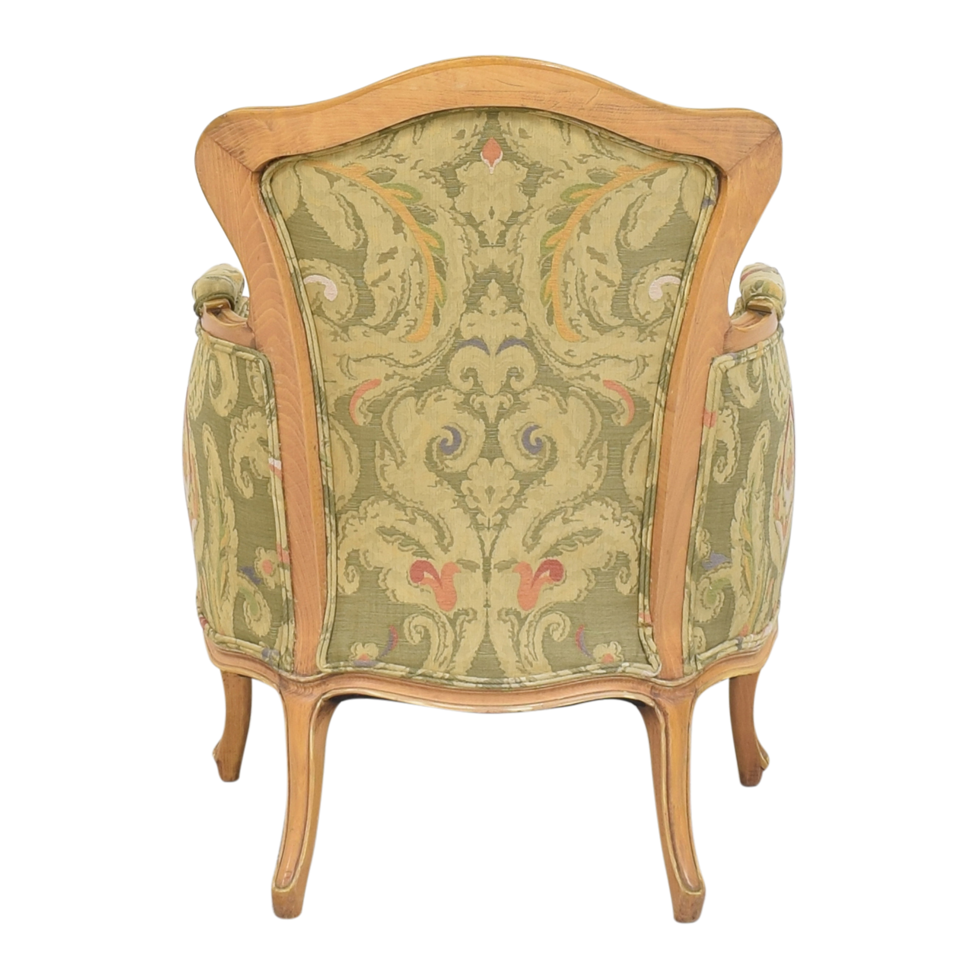 Wing Back Bergere Chair used