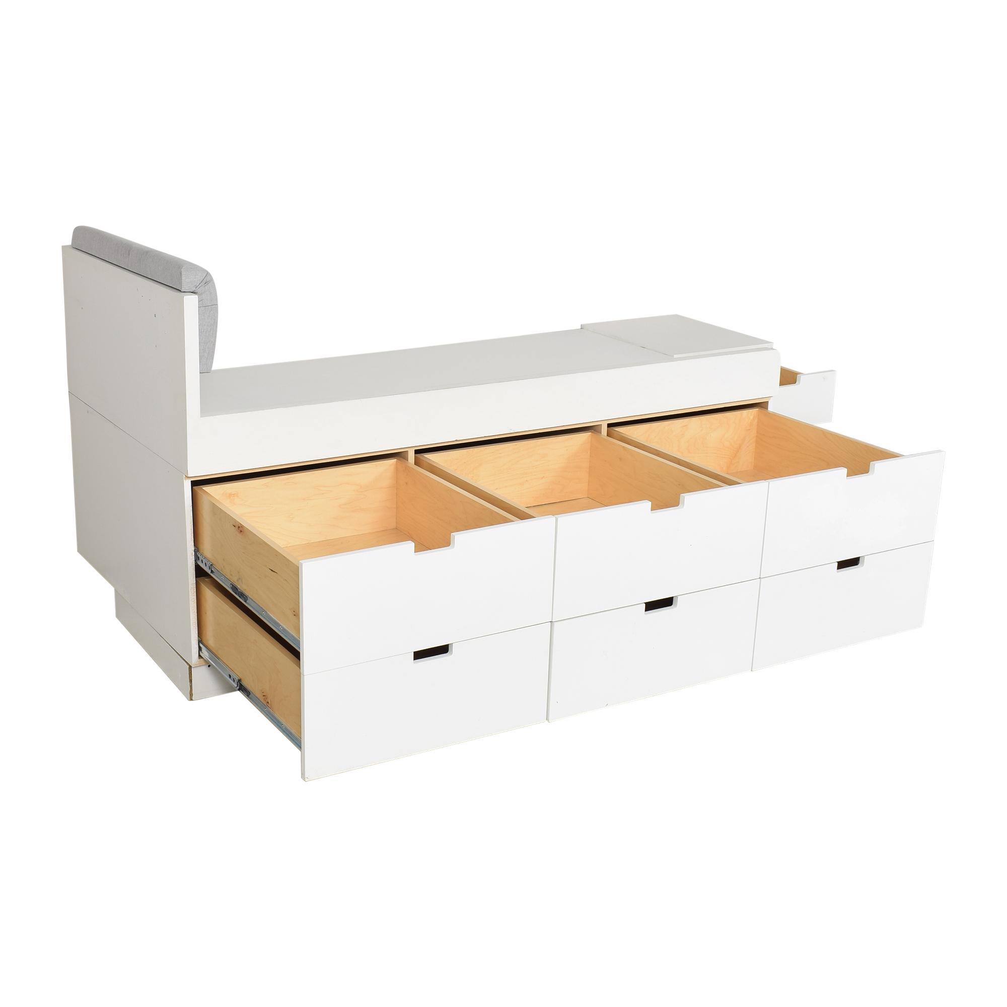 Gothic Cabinet Craft Gothic Cabinet Craft Custom Storage Twin Bed ma