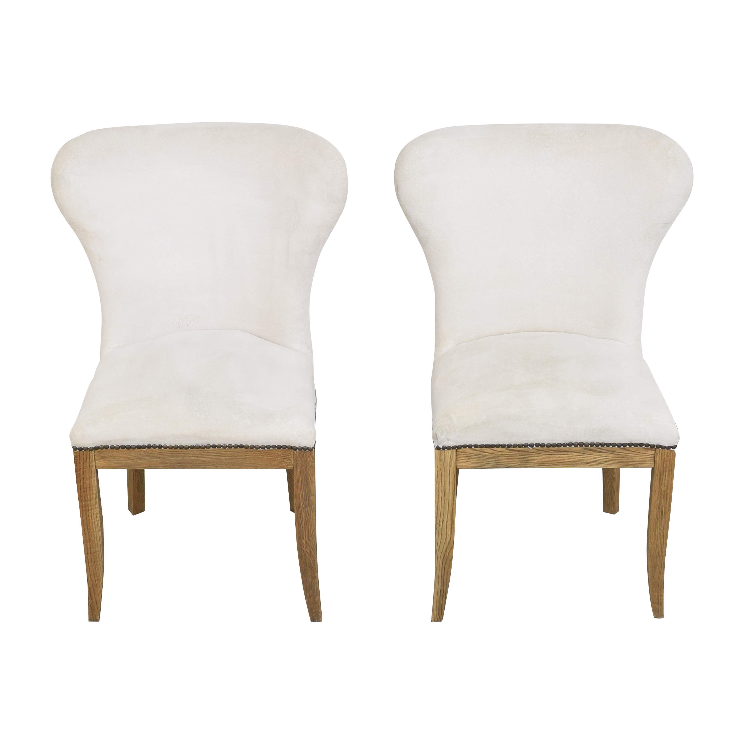 Restoration Hardware Restoration Hardware Upholstered Dining Chairs on sale