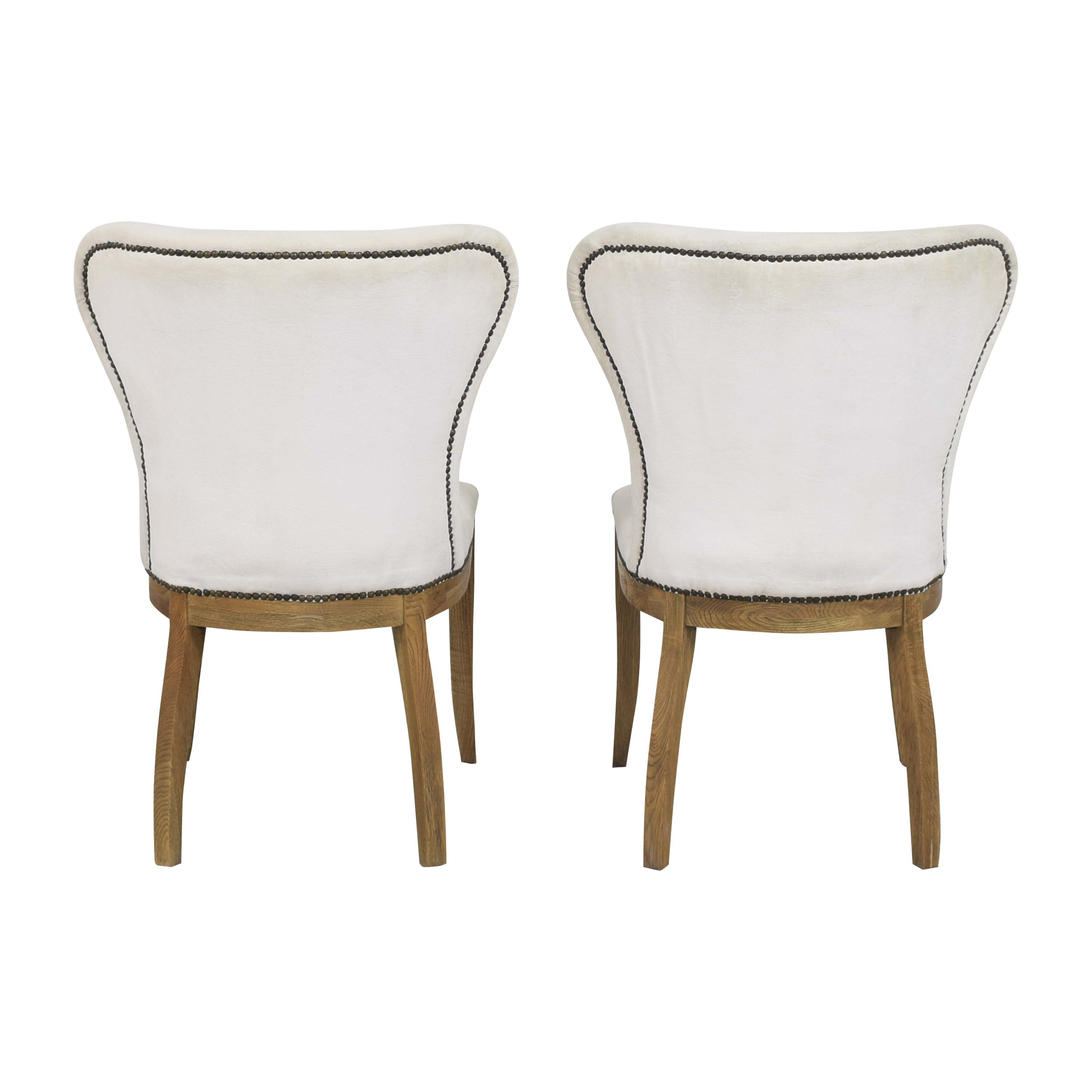 Restoration Hardware Restoration Hardware Upholstered Dining Chairs Dining Chairs