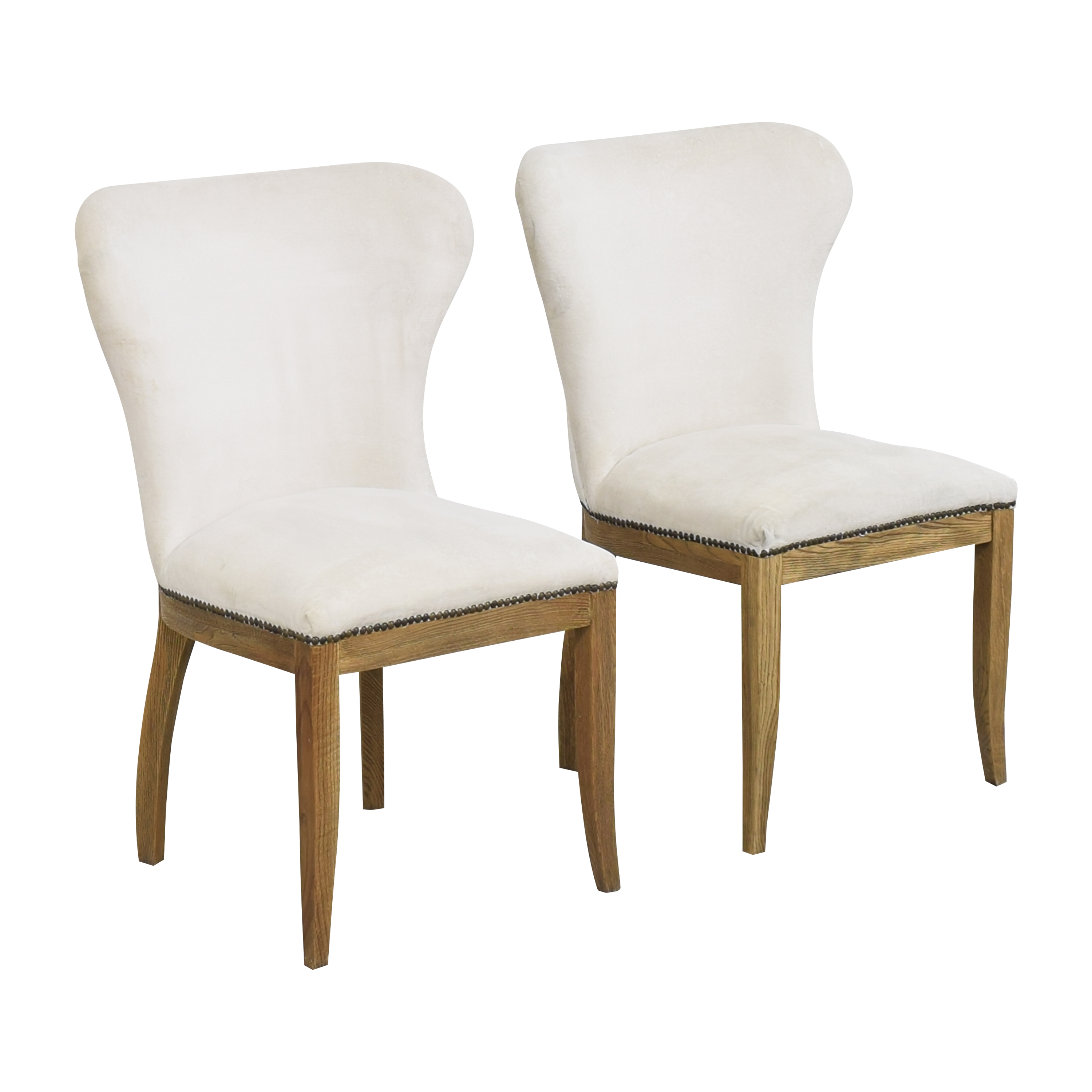 buy Restoration Hardware Restoration Hardware Upholstered Dining Chairs online