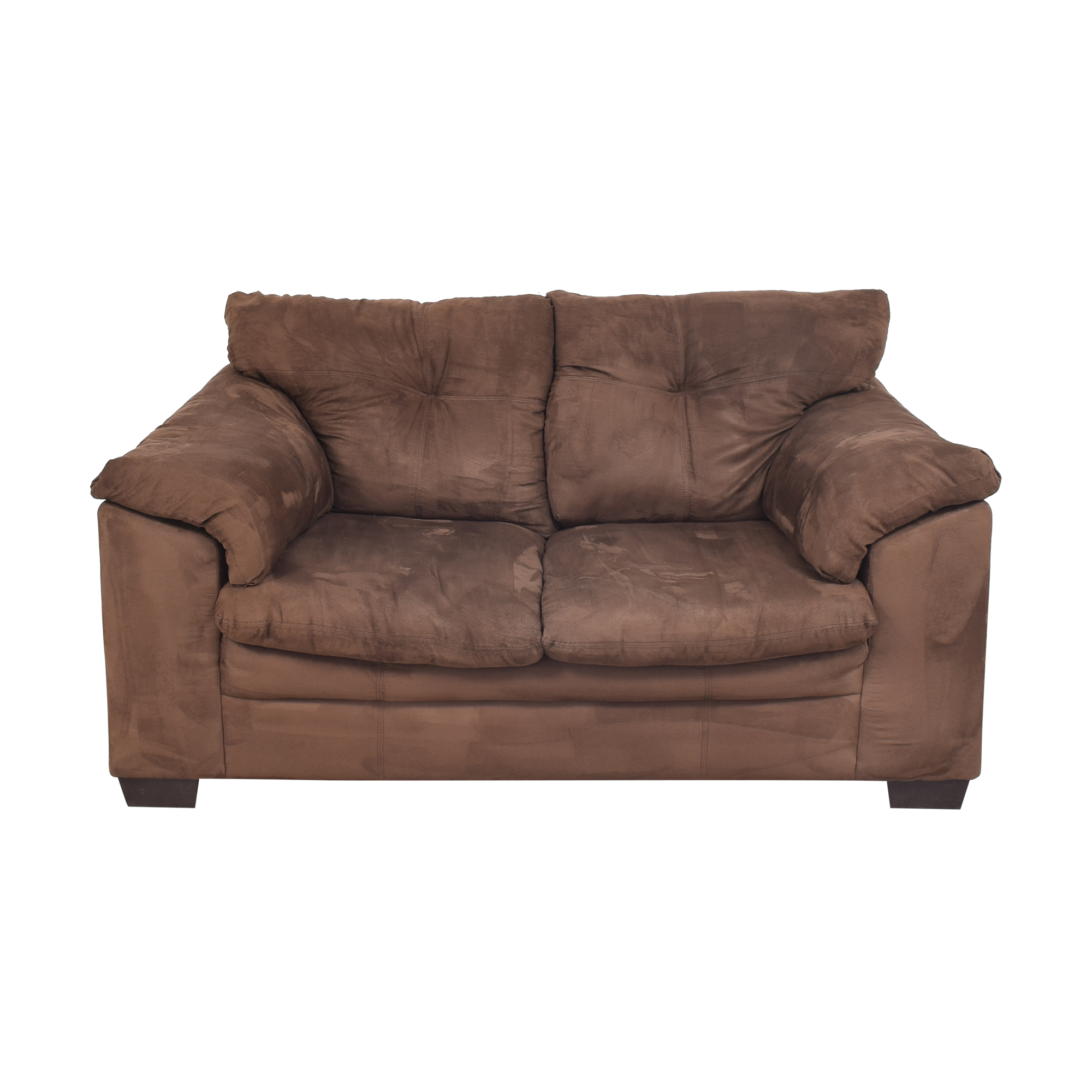 shop Raymour & Flanigan Raymour & Flanigan Tufted Loveseat online