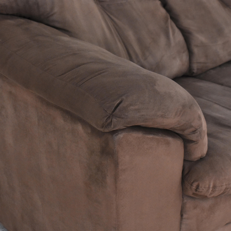 Raymour & Flanigan Three Seat Sofa / Sofas