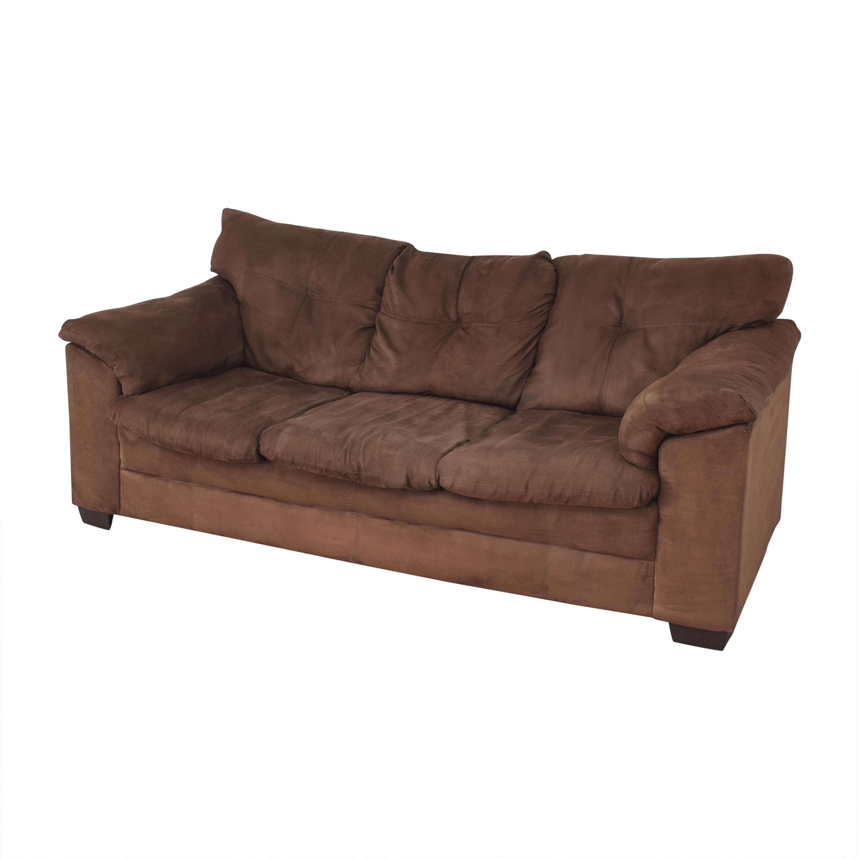 buy Raymour & Flanigan Three Seat Sofa Raymour & Flanigan Sofas