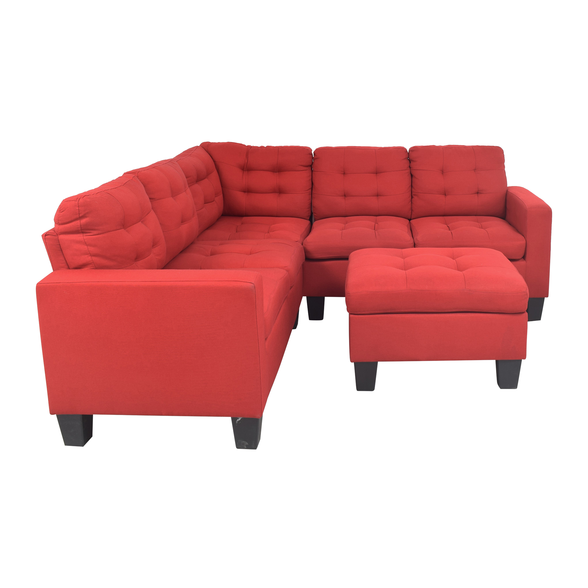 buy Wayfair Andover Mills Pawnee Corner Sectional with Ottoman Wayfair Sectionals