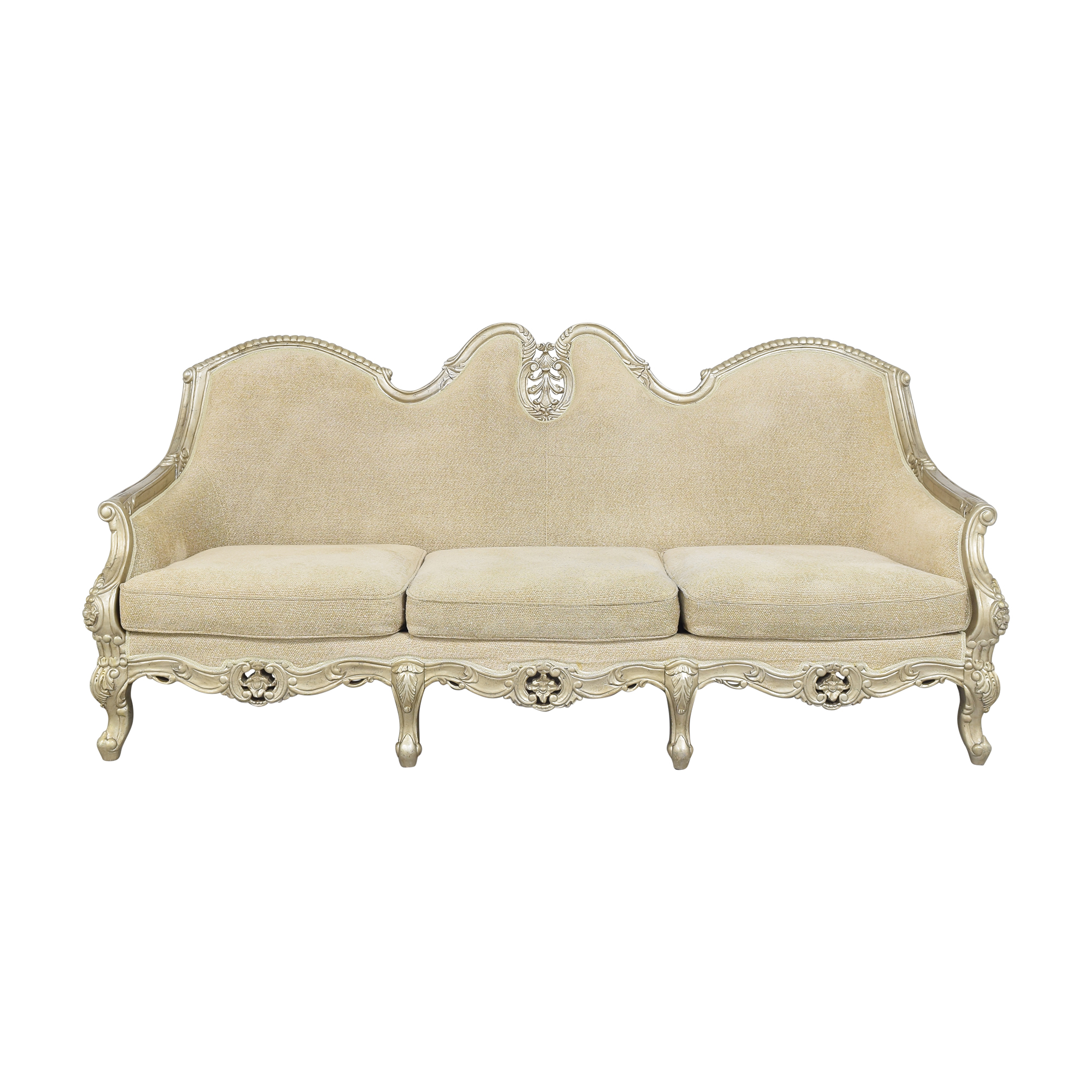 shop  Country French-Style Three Cushion Sofa online