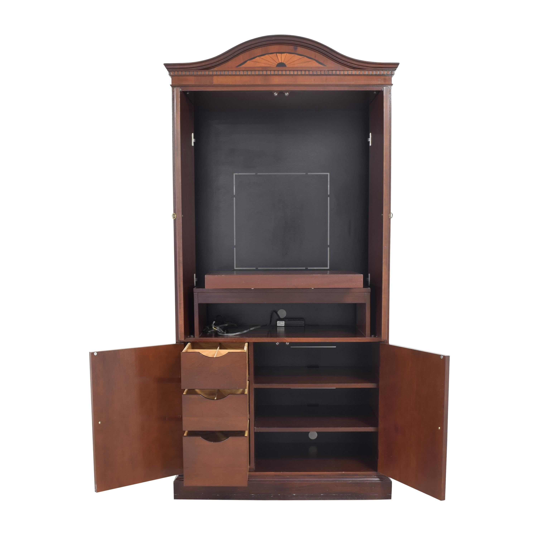 Hekman Furniture Hekman Furniture Inlaid Media Armoire  brown