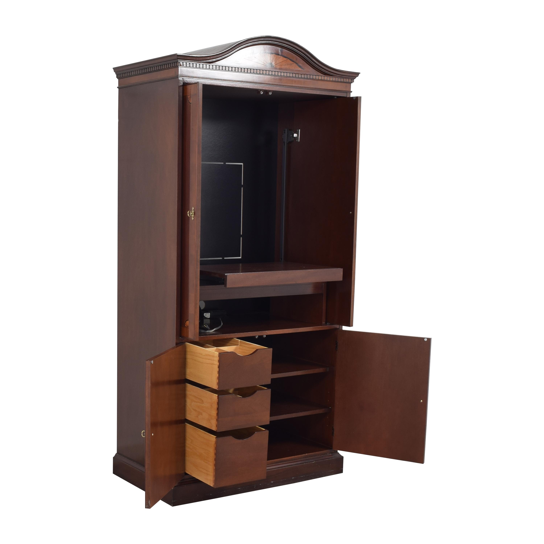 Hekman Furniture Hekman Furniture Inlaid Media Armoire  nyc