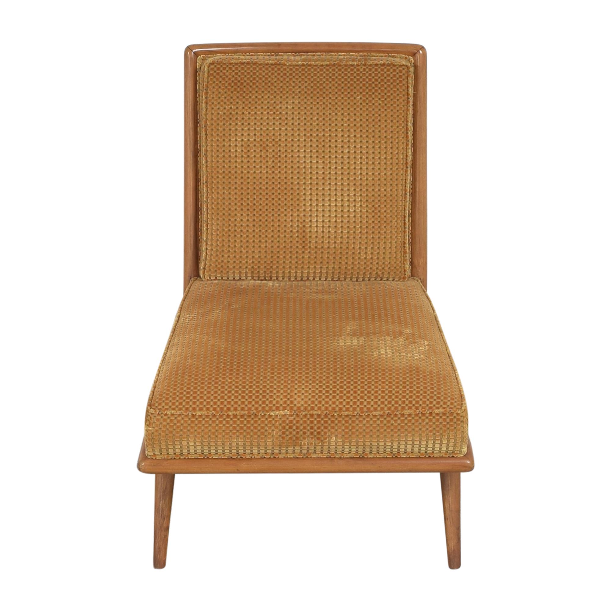 T.H. Robsjohn Gibbings for Widdicomb Slipper Chair Widdicomb