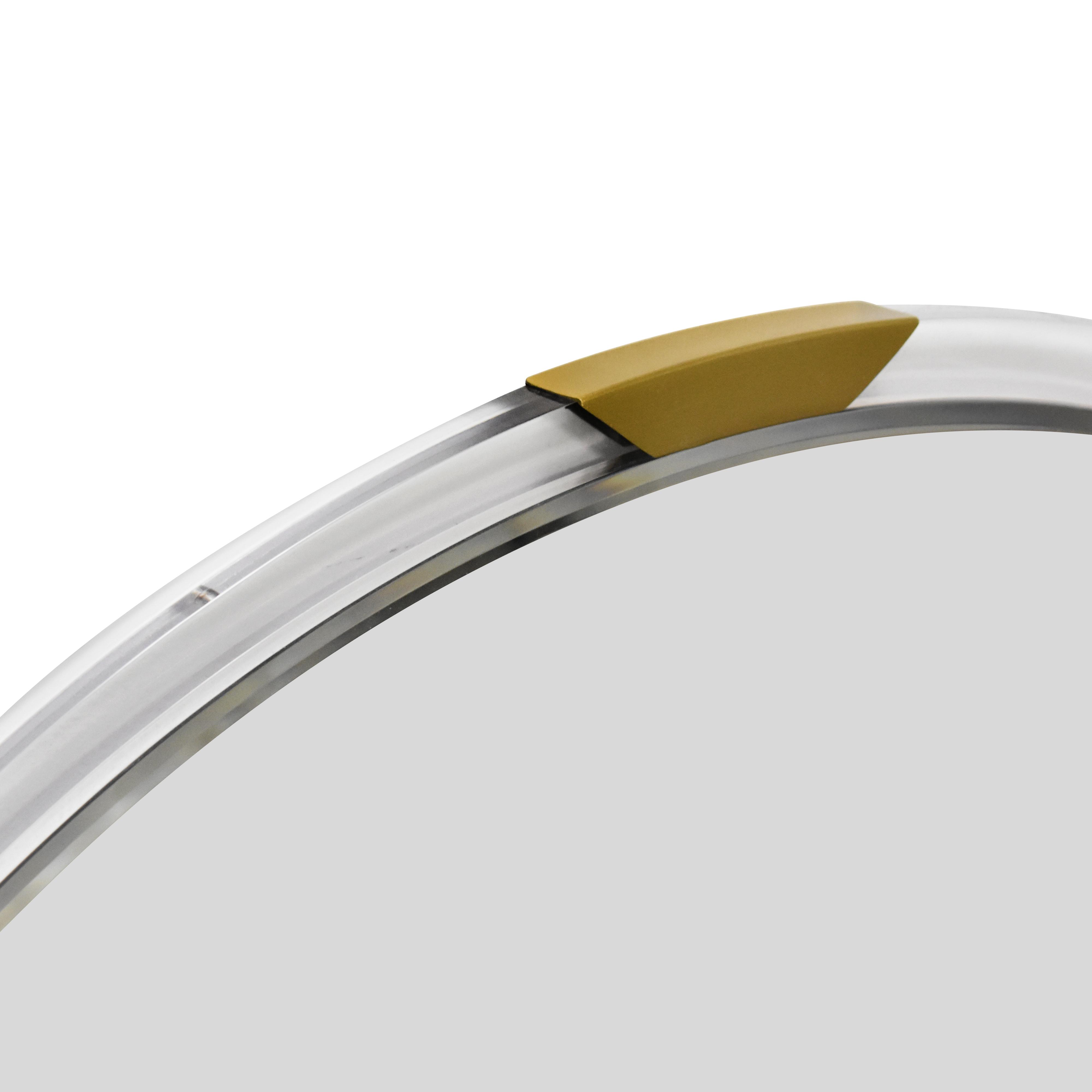 shop CB2 Demi Acrylic Round Mirror CB2 Decor