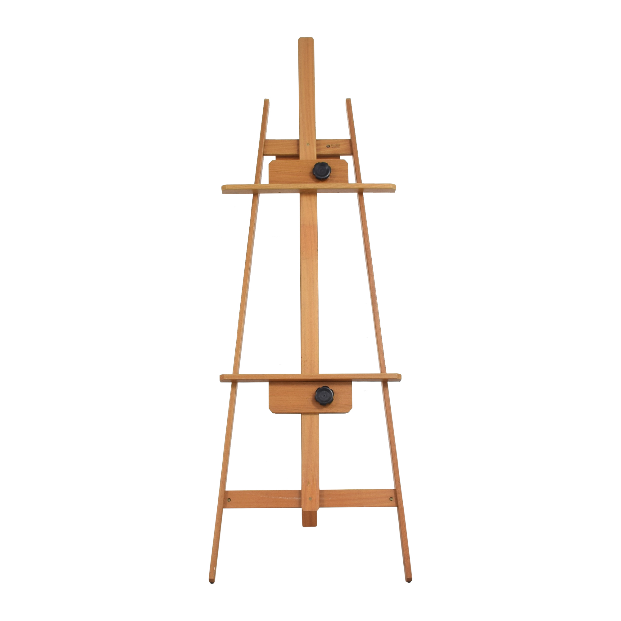 Trident Museo Deluxe A Frame Easel brown