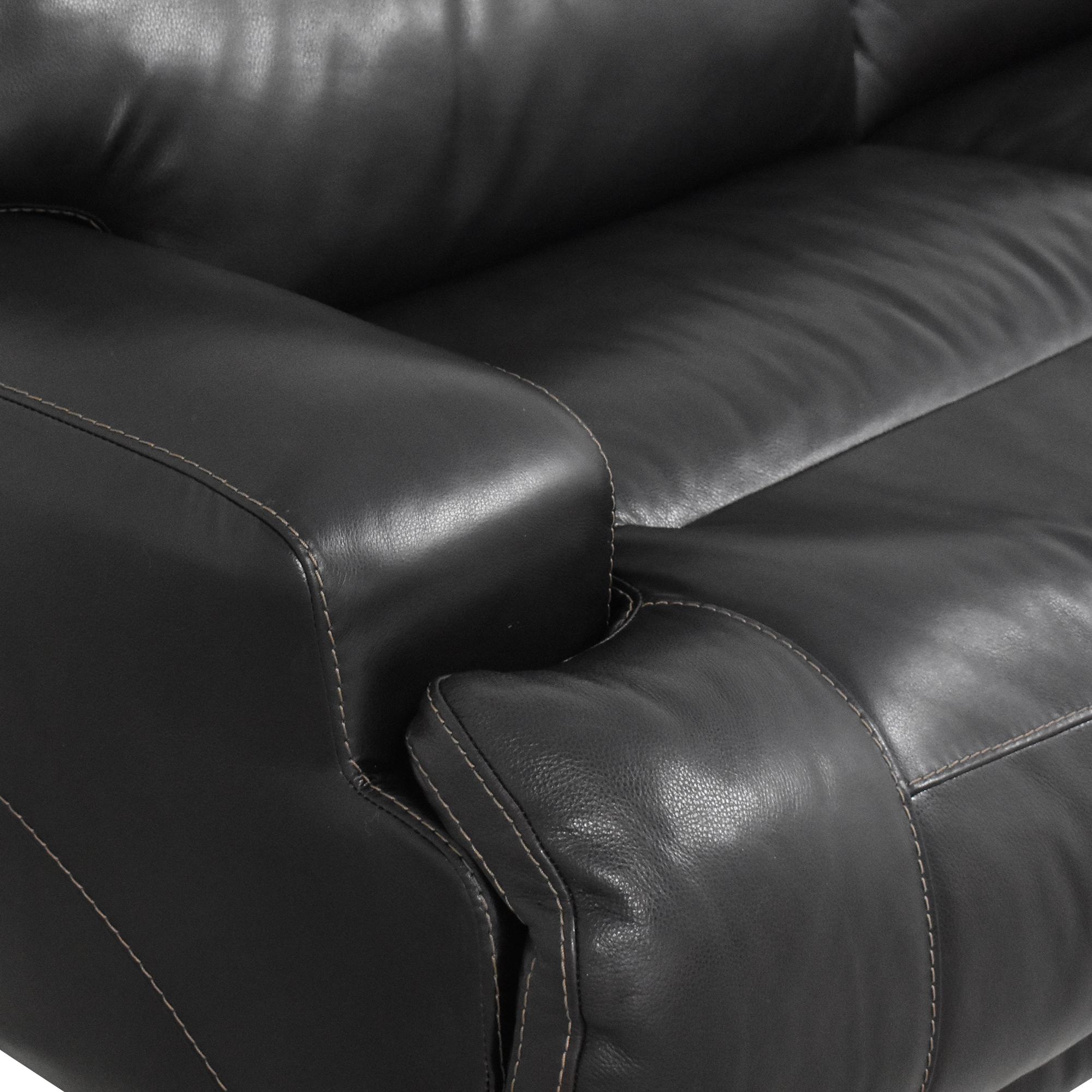 Raymour & Flanigan Raymour & Flanigan Tompkins Power Reclining Sofa price