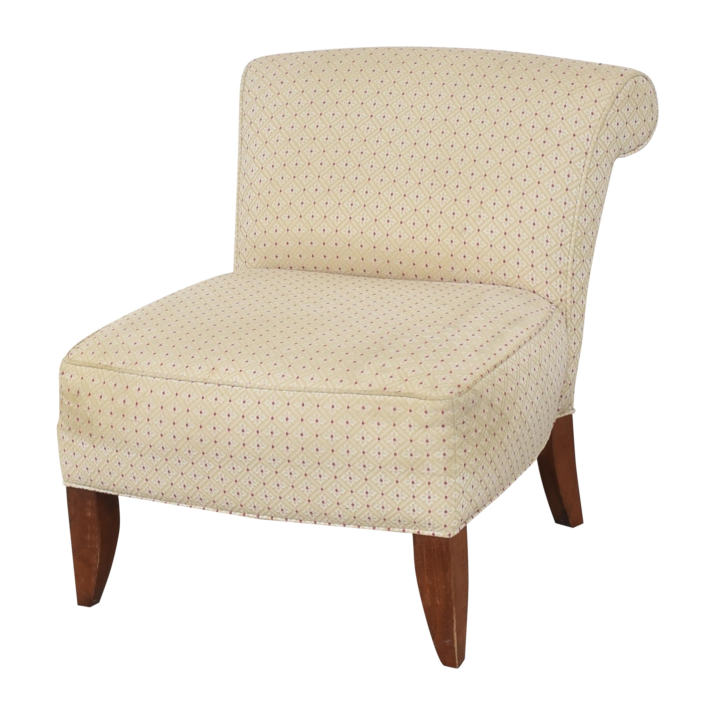 buy Ethan Allen Slipper Chair Ethan Allen