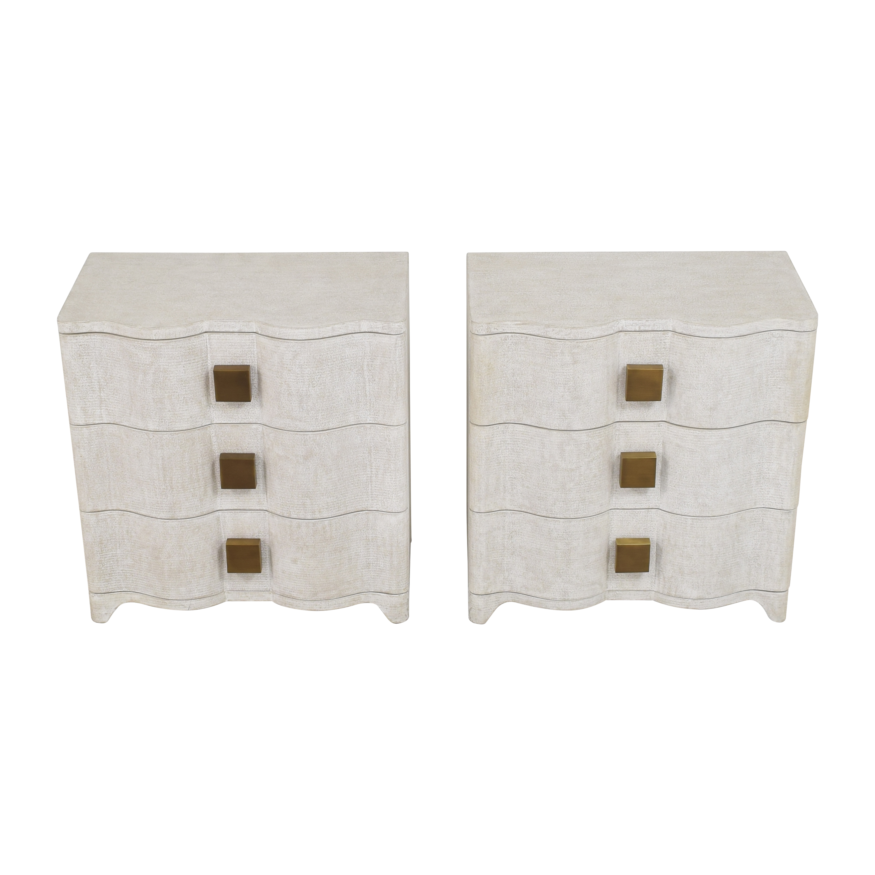 Global Views Global Views Studio A Toile Bedside Chests End Tables
