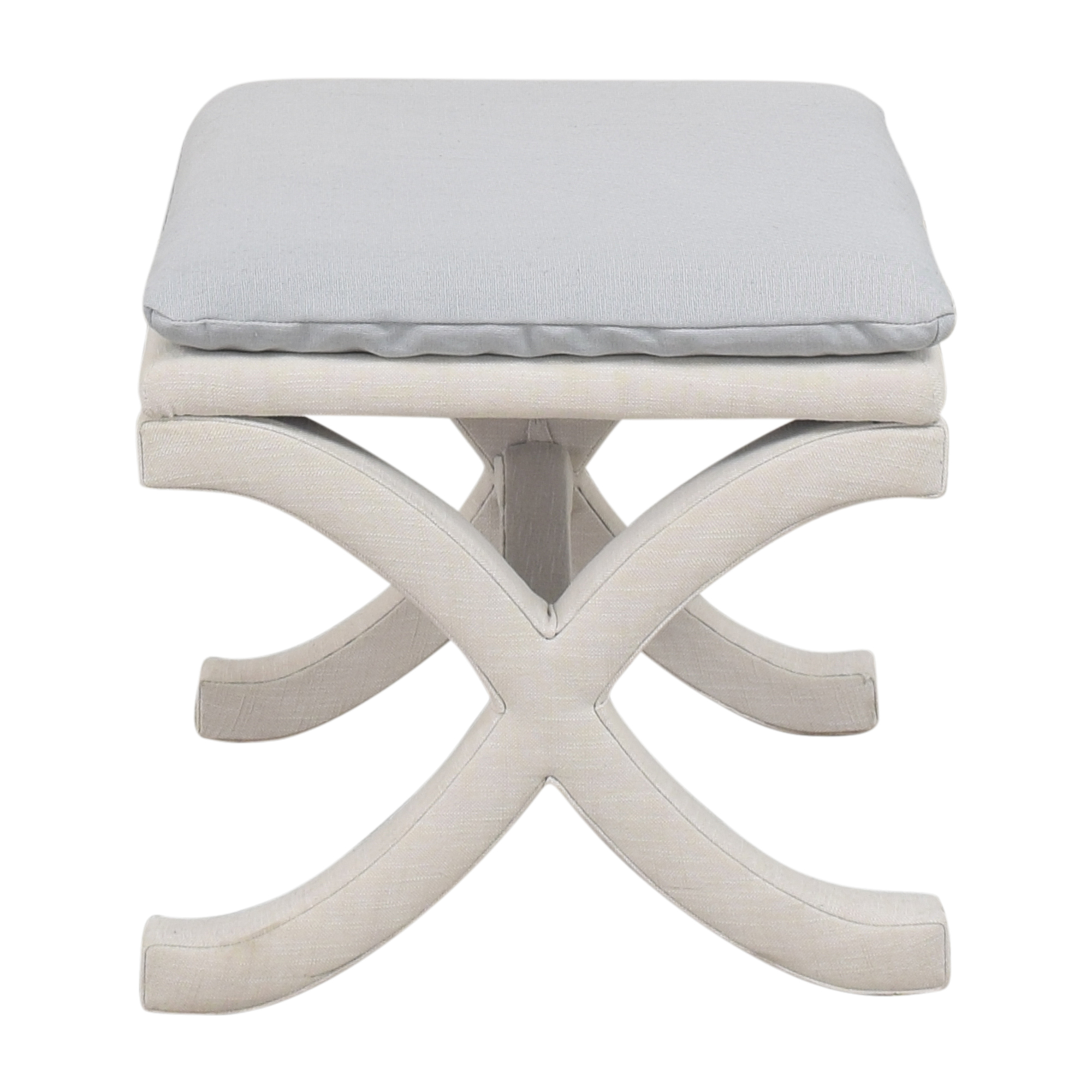 buy Ballard Designs Curved X Bench Ballard Designs