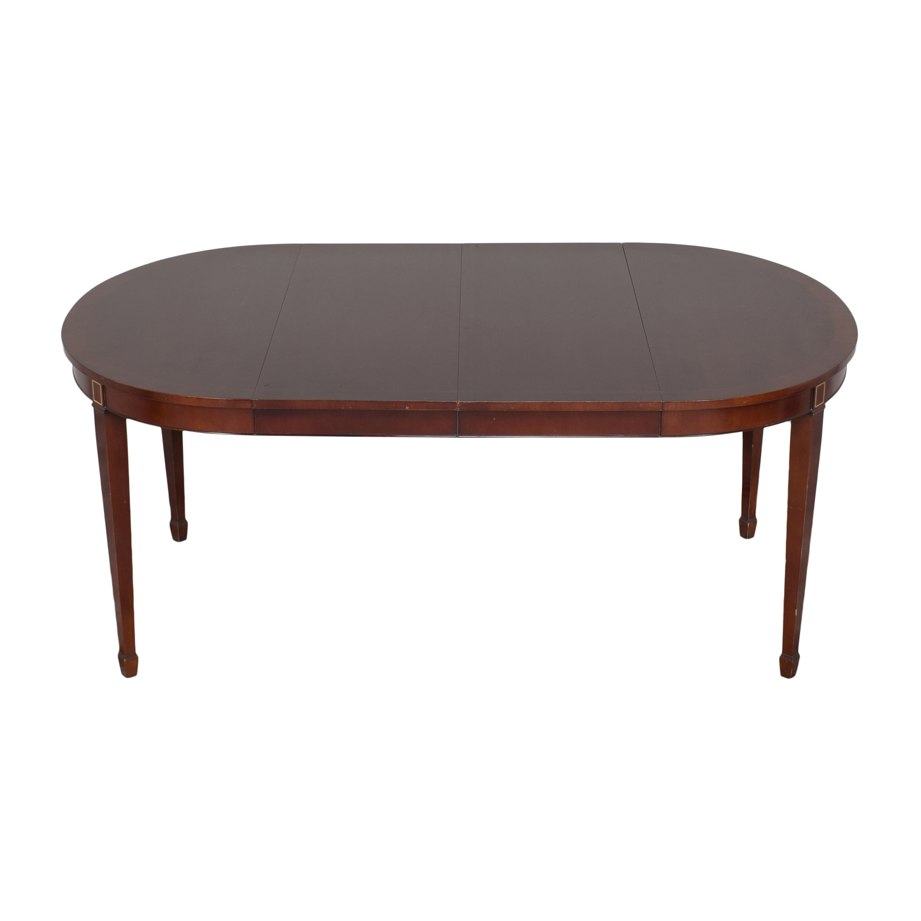Kindel Kindel Round Extendable Dining Table second hand