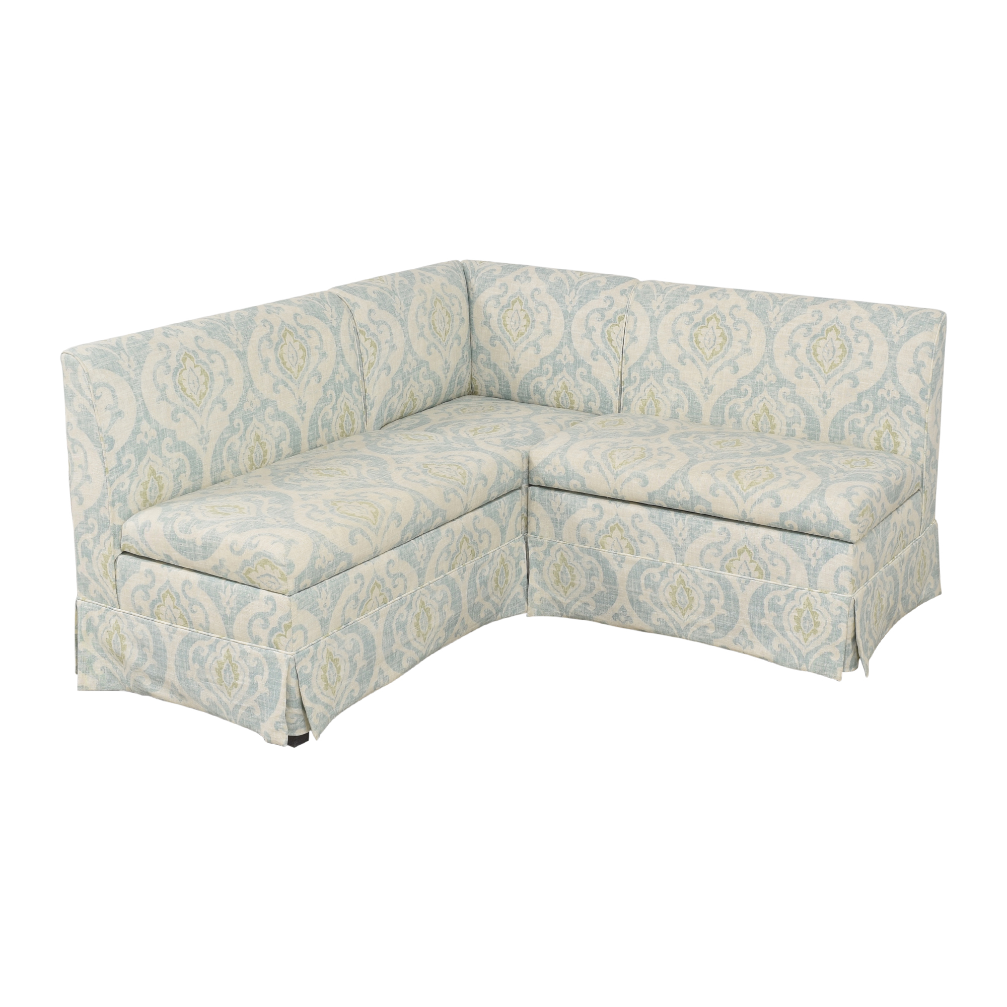 Wisteria Wisteria Sectional Storage Banquette for sale