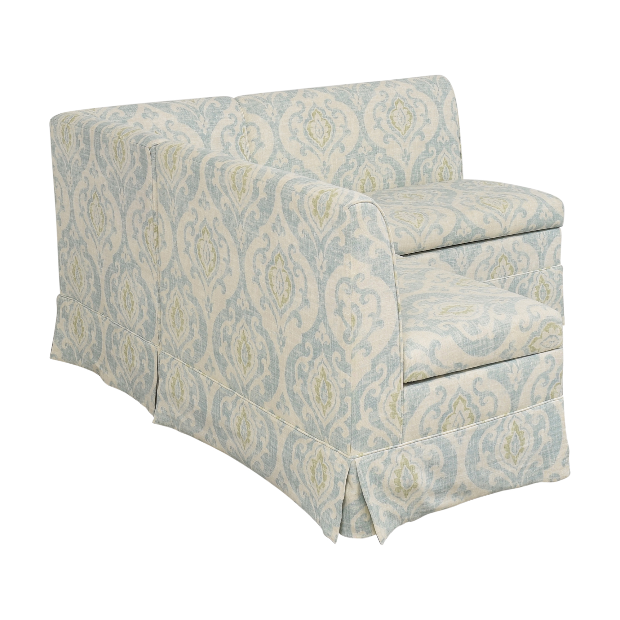 Wisteria Wisteria Sectional Storage Banquette used
