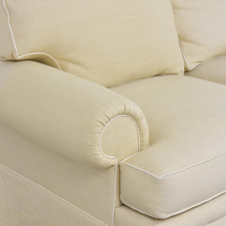 shop Skirted Roll Arm Sofa