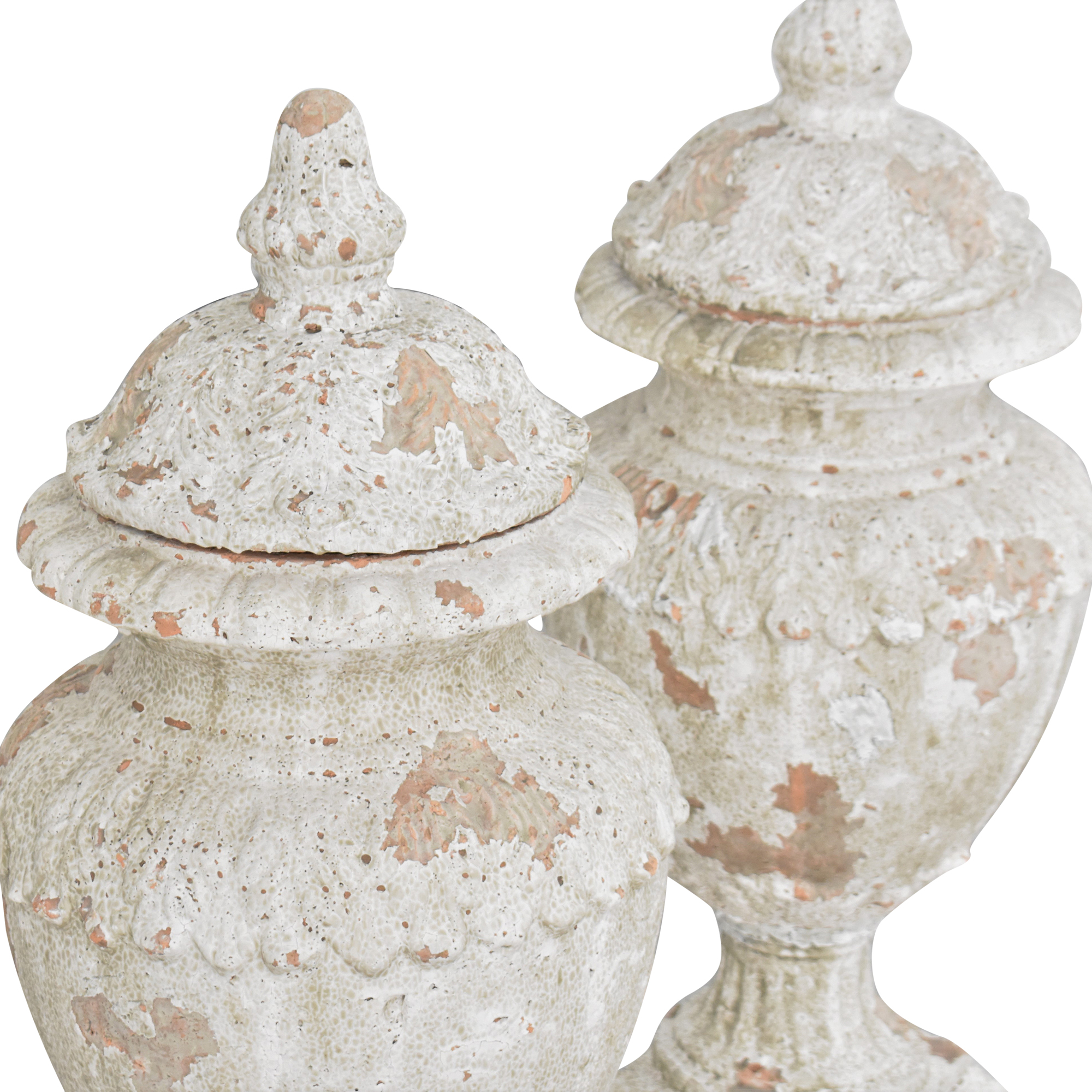 shop Decorative Distressed Urns  Decorative Accents
