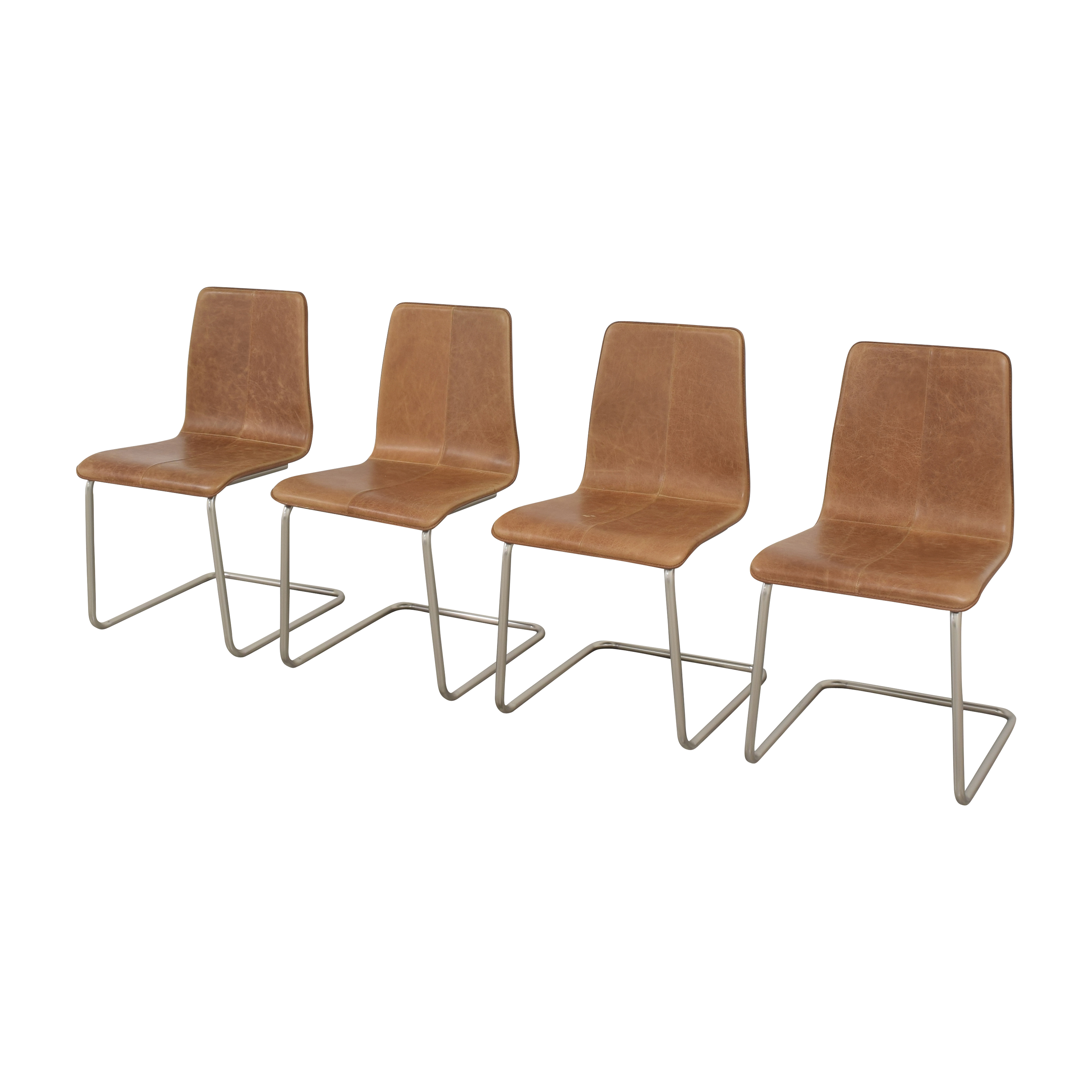 CB2 CB2 Pony Dining Chairs for sale