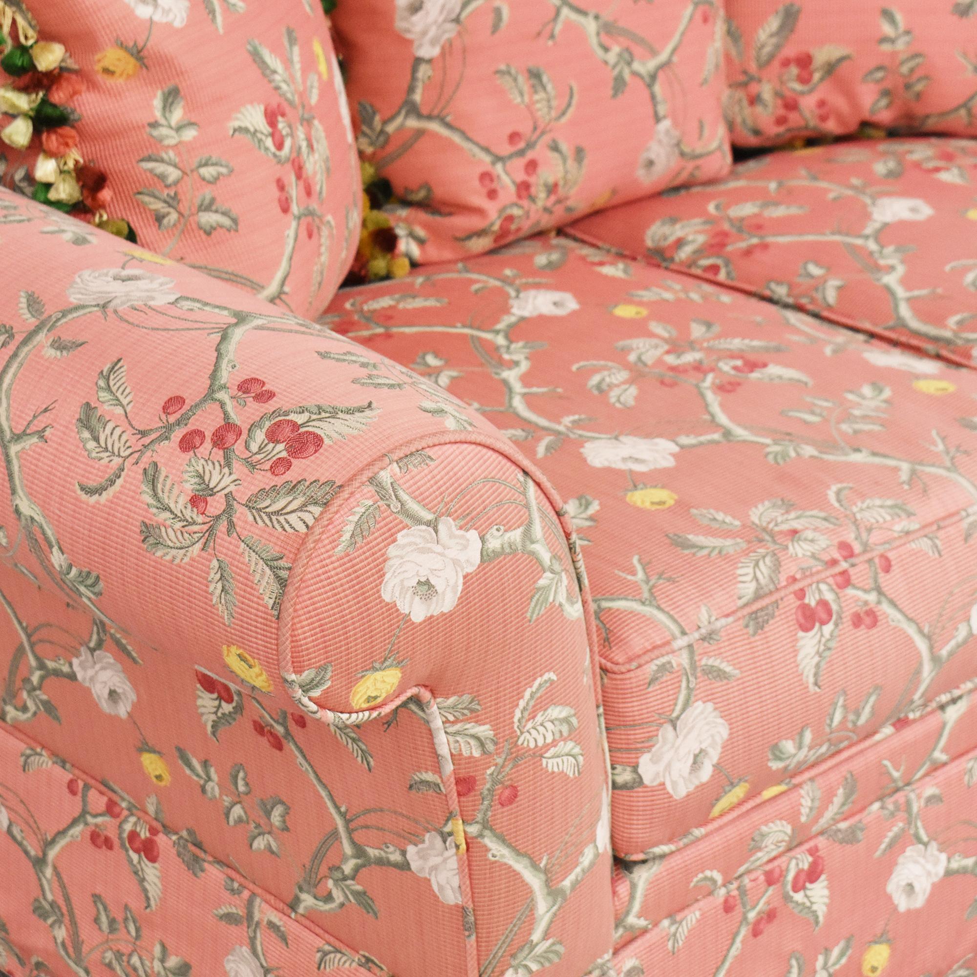 shop  Custom Skirted Two Cushion Sofa online