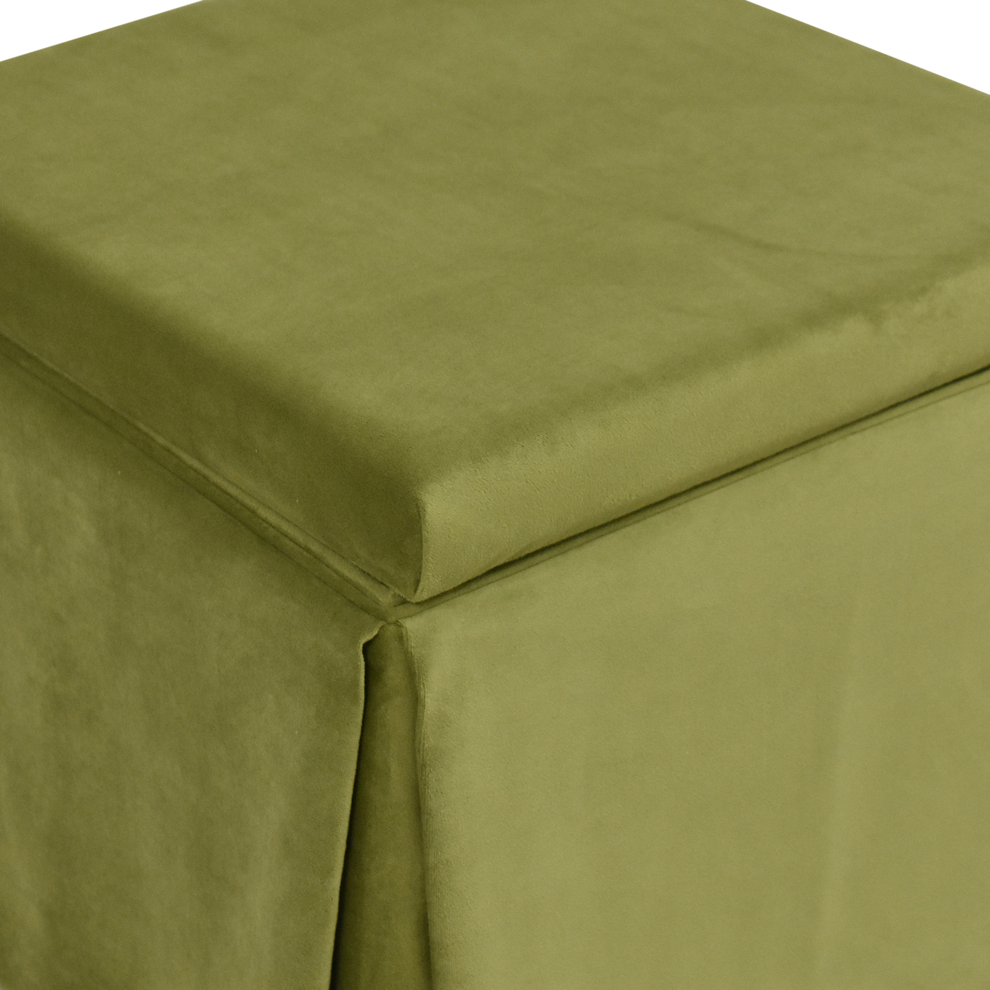 The Inside The Inside Skirted Storage Ottoman price