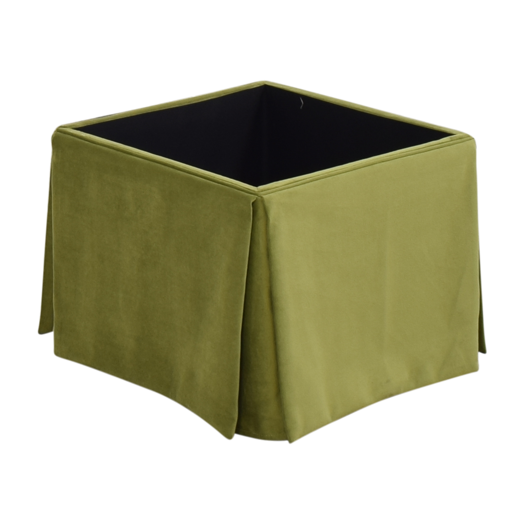 The Inside The Inside Skirted Storage Ottoman